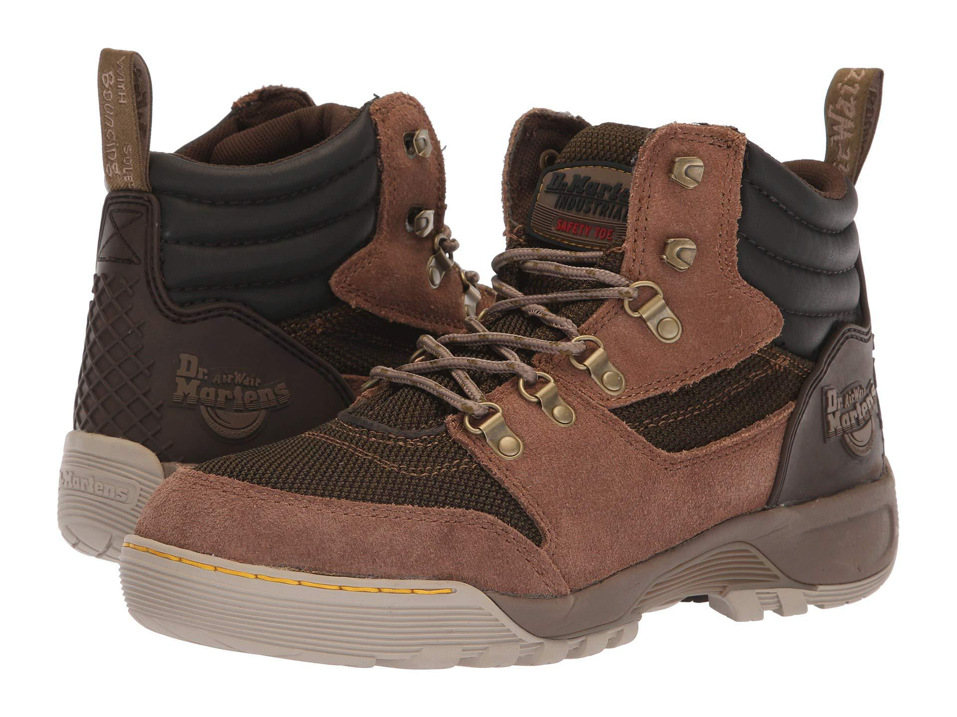 d7ee575e40ad Lyst - Dr. Martens Rapid Steel Toe 6-tie Boot (otter Brown) Work ...