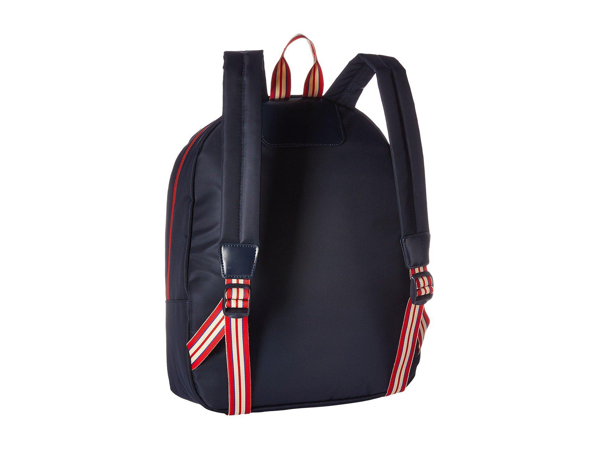 Lyst - Lipault Ines De La Fressange Medium Backpack (blue) Backpack ... a00e14454e3a4