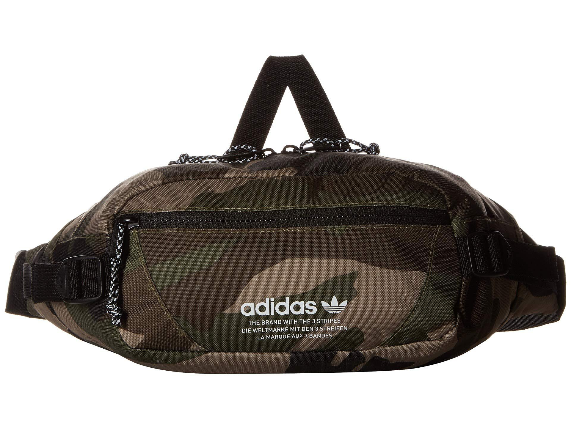 adidas Originals. Men s Black Originals Utility Crossbody (olive Cargo camo)  Cross Body Handbags 0a16f53437f53