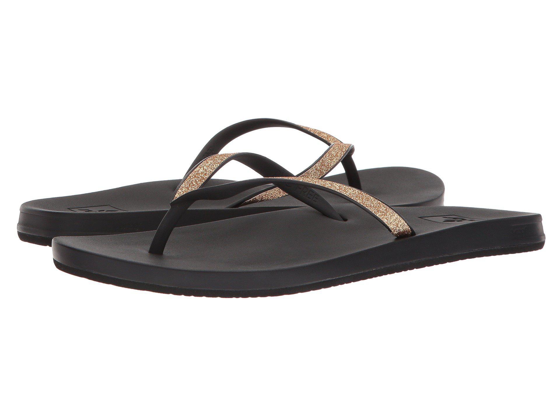 0c14472bd23c Lyst - Reef Cushion Bounce Stargazer (frappe) Women s Sandals in ...