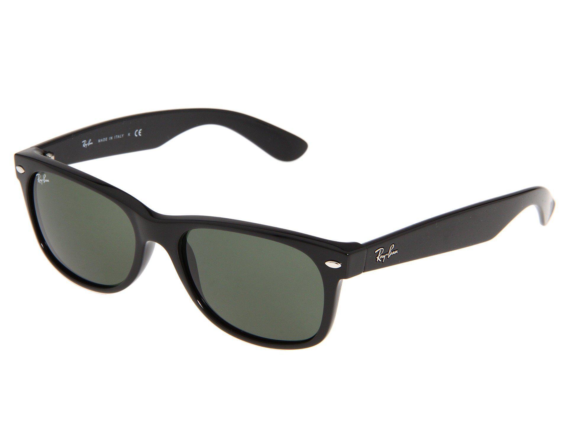 c9f9cfbb528 Ray-Ban. Women s Rb2132 New Wayfarer 55mm (black g-15 Xlt Lens) Fashion  Sunglasses