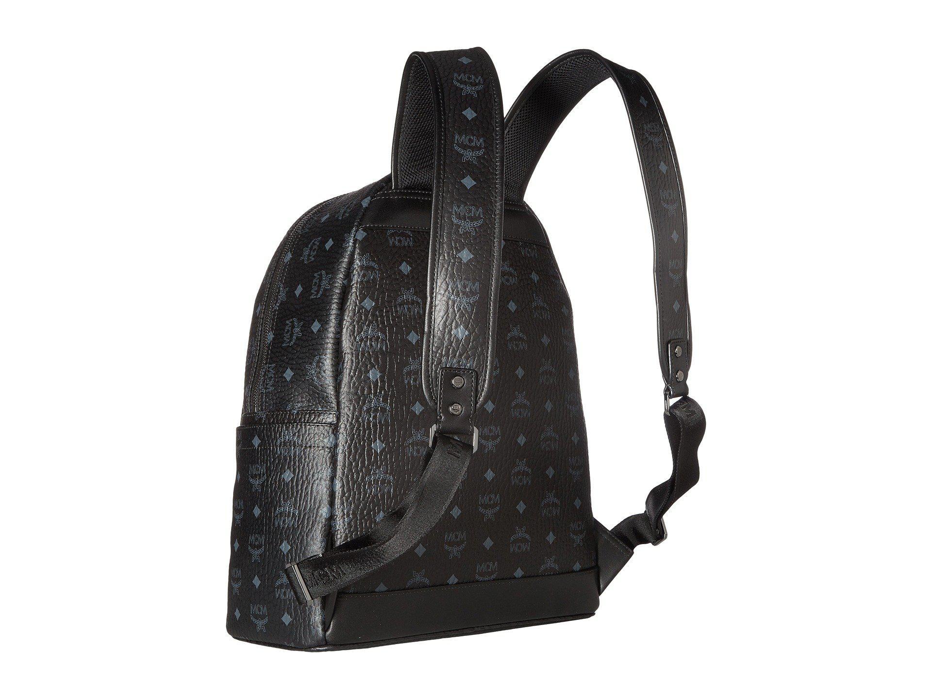 MCM - Black Stark No Stud Medium Backpack (red white) Backpack Bags for.  View fullscreen 4d238e553c77e