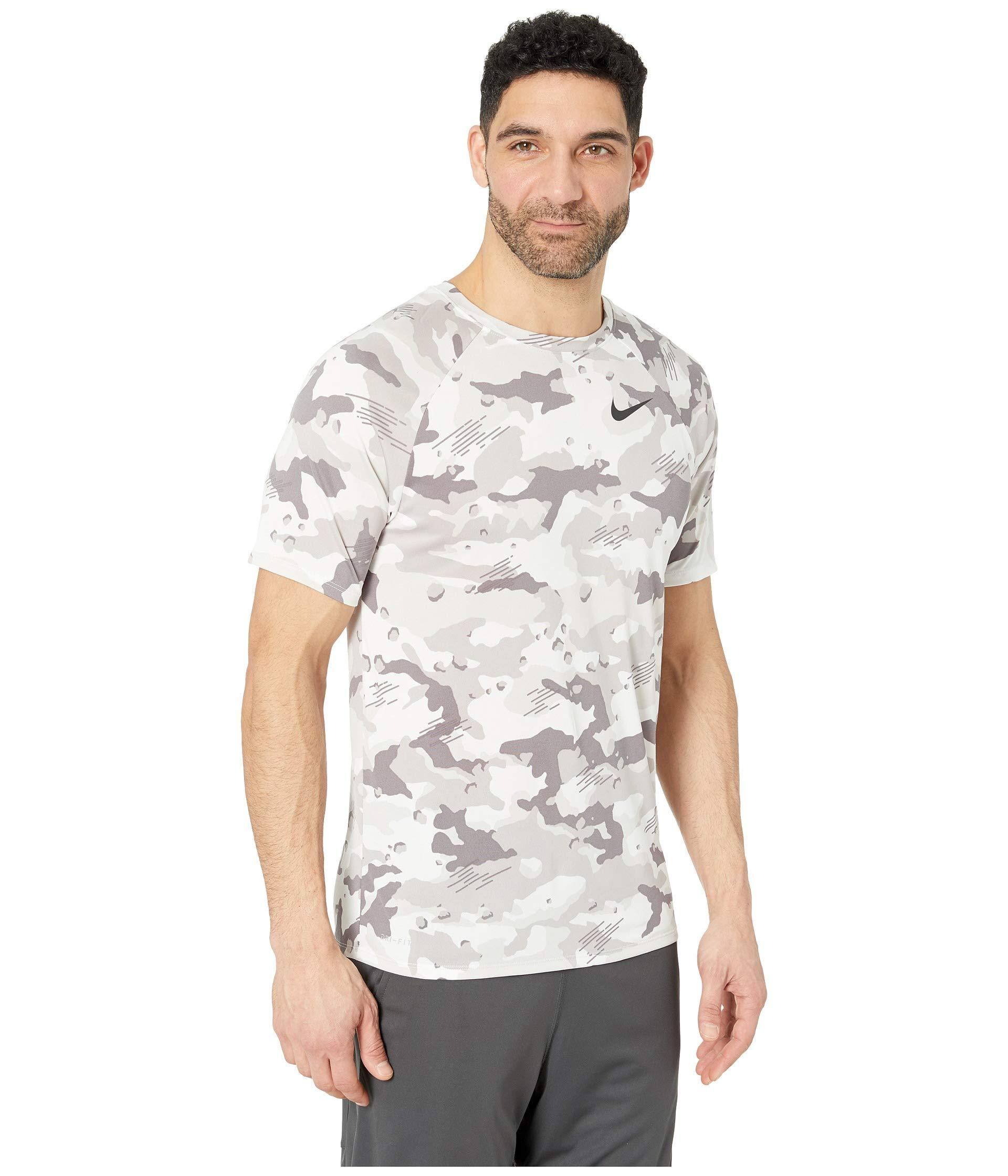 c0f3256c Nike - Dry Tee Dri-fittm Cotton Camo All Over Print (dark Grey/. View  fullscreen