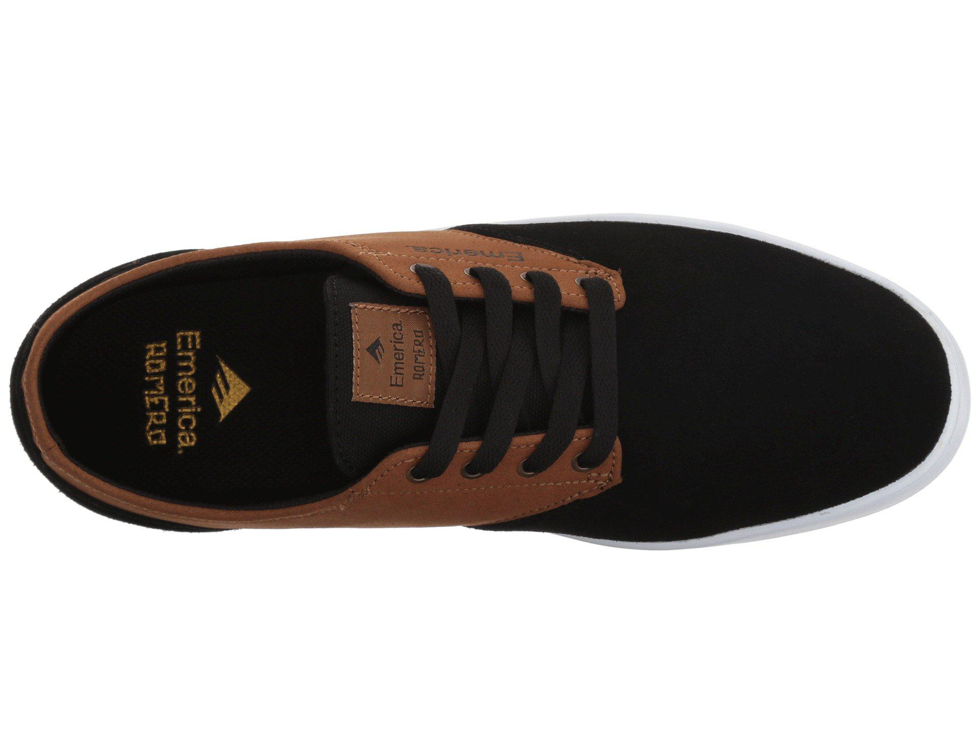204a2b00f9bbb3 Lyst - Emerica The Romero Laced (black brown) Men s Skate Shoes in ...