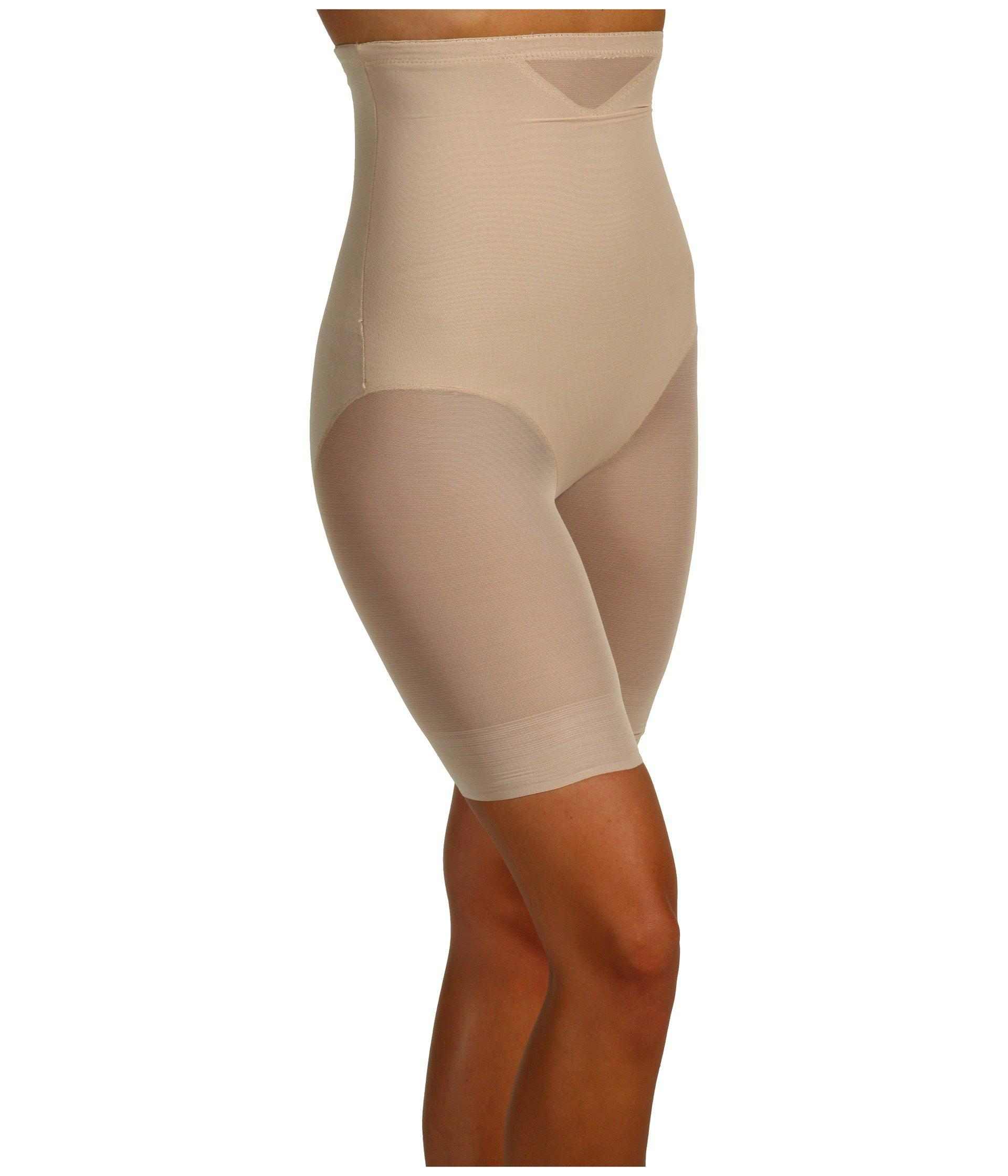 bf8c8b89117 Miraclesuit - Natural Extra Firm Sexy Sheer Shaping Hi-waist Thigh Slimmer  (black). View fullscreen