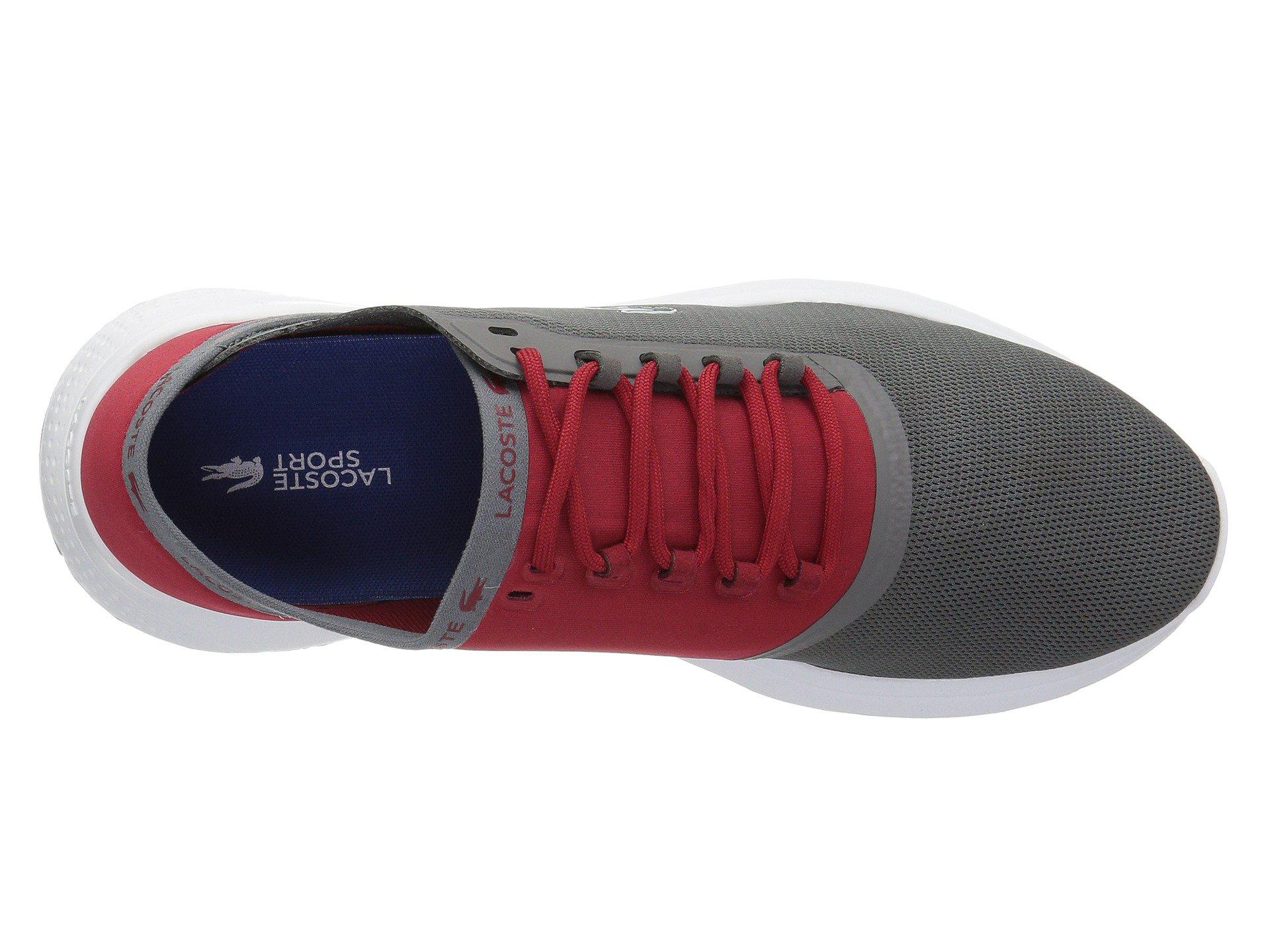 868a27c52f423 Lacoste - Gray Lt Fit 118 4 (dark Grey red) Men s Shoes for. View fullscreen