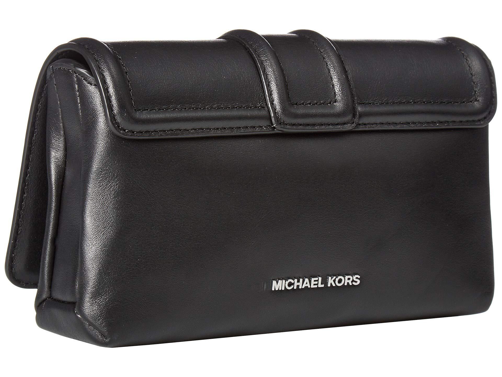 01d8d3301446 MICHAEL Michael Kors - Padlock Chain Crossbody (black) Handbags - Lyst.  View fullscreen
