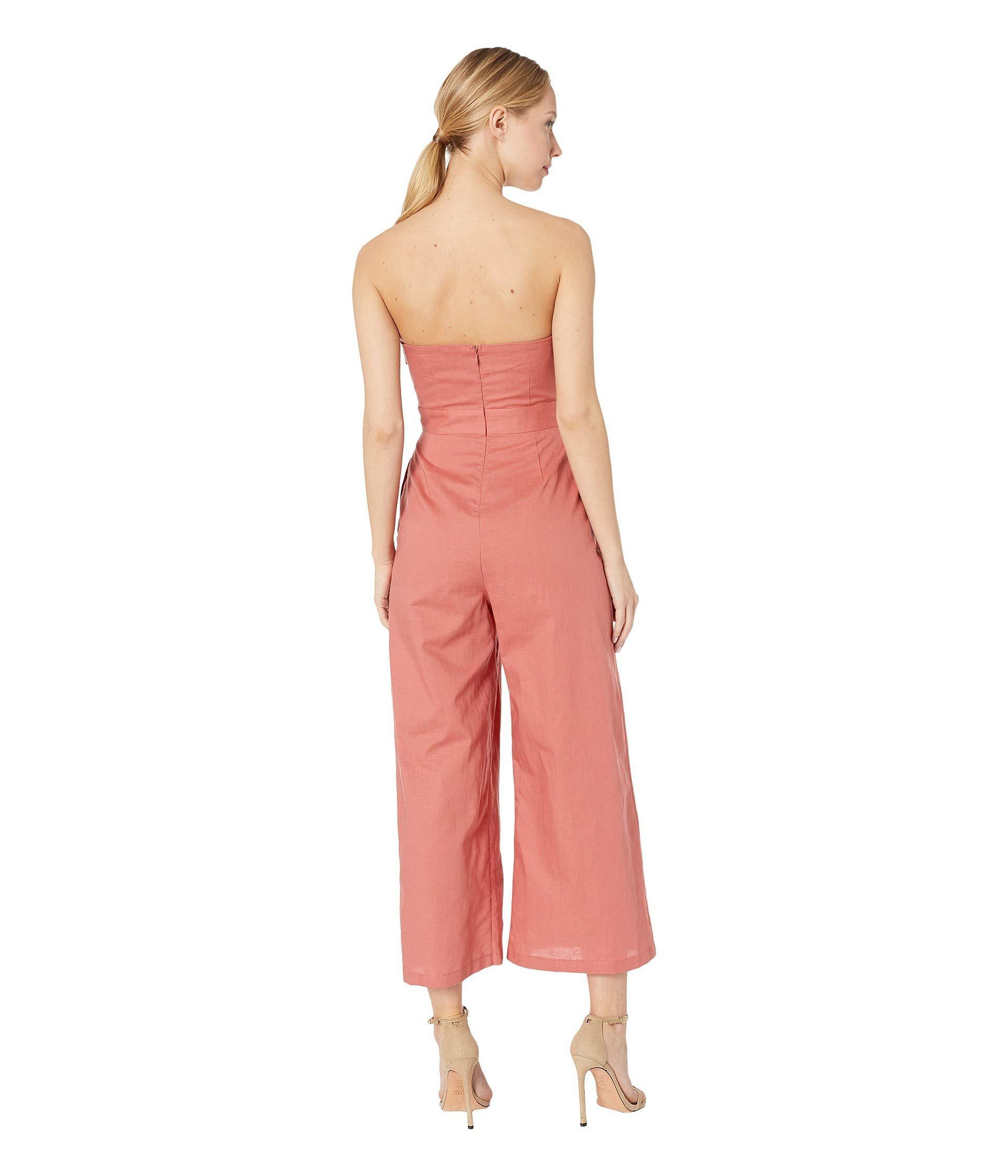 a1af98e4da8 Astr - Pink Mara Jumpsuit (black white Stripe) Women s Jumpsuit   Rompers  One. View fullscreen