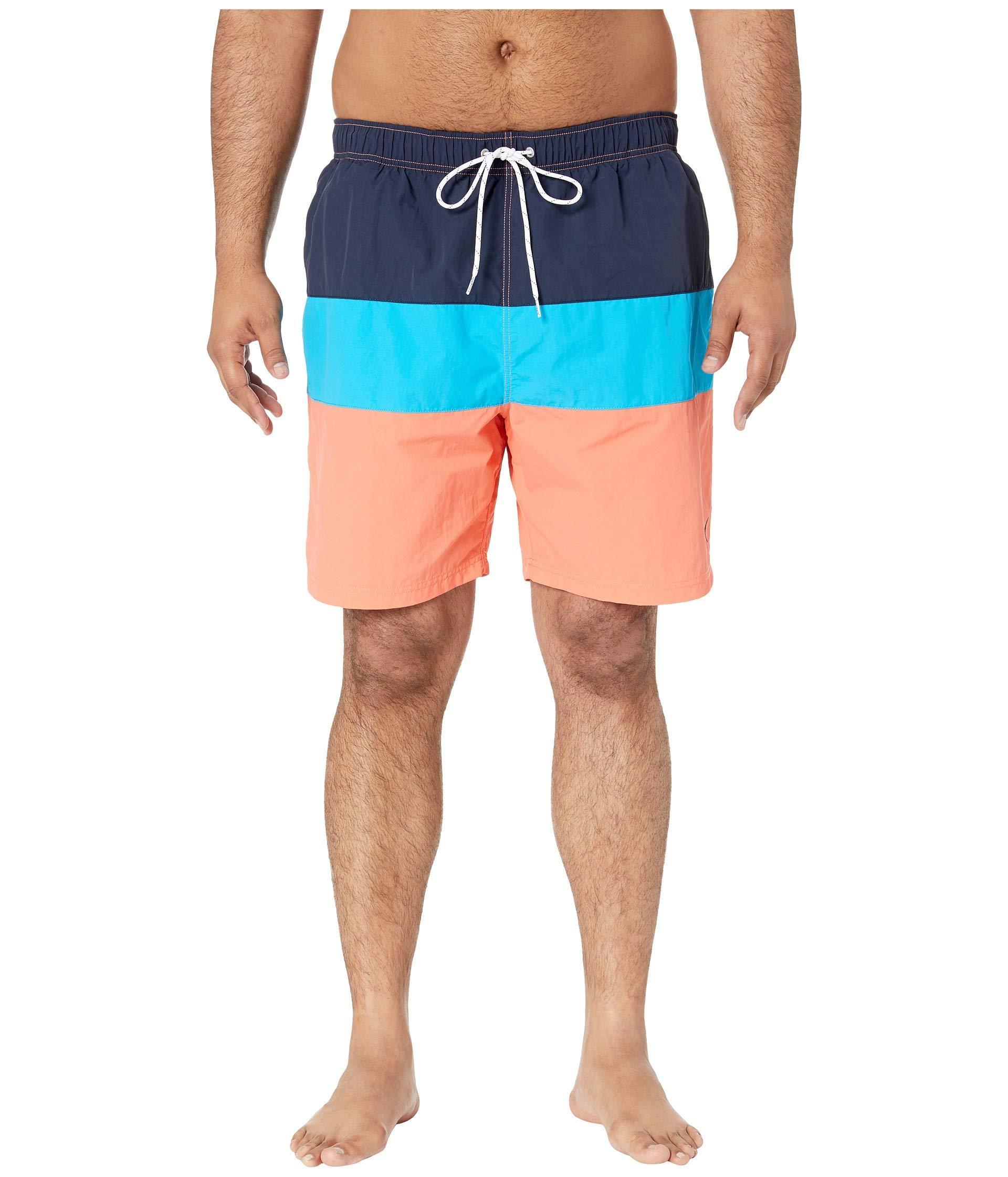 556deba07f Lyst - Nautica Big Tall Tri-block Swim Trunk (sunfish Yellow) Men's ...