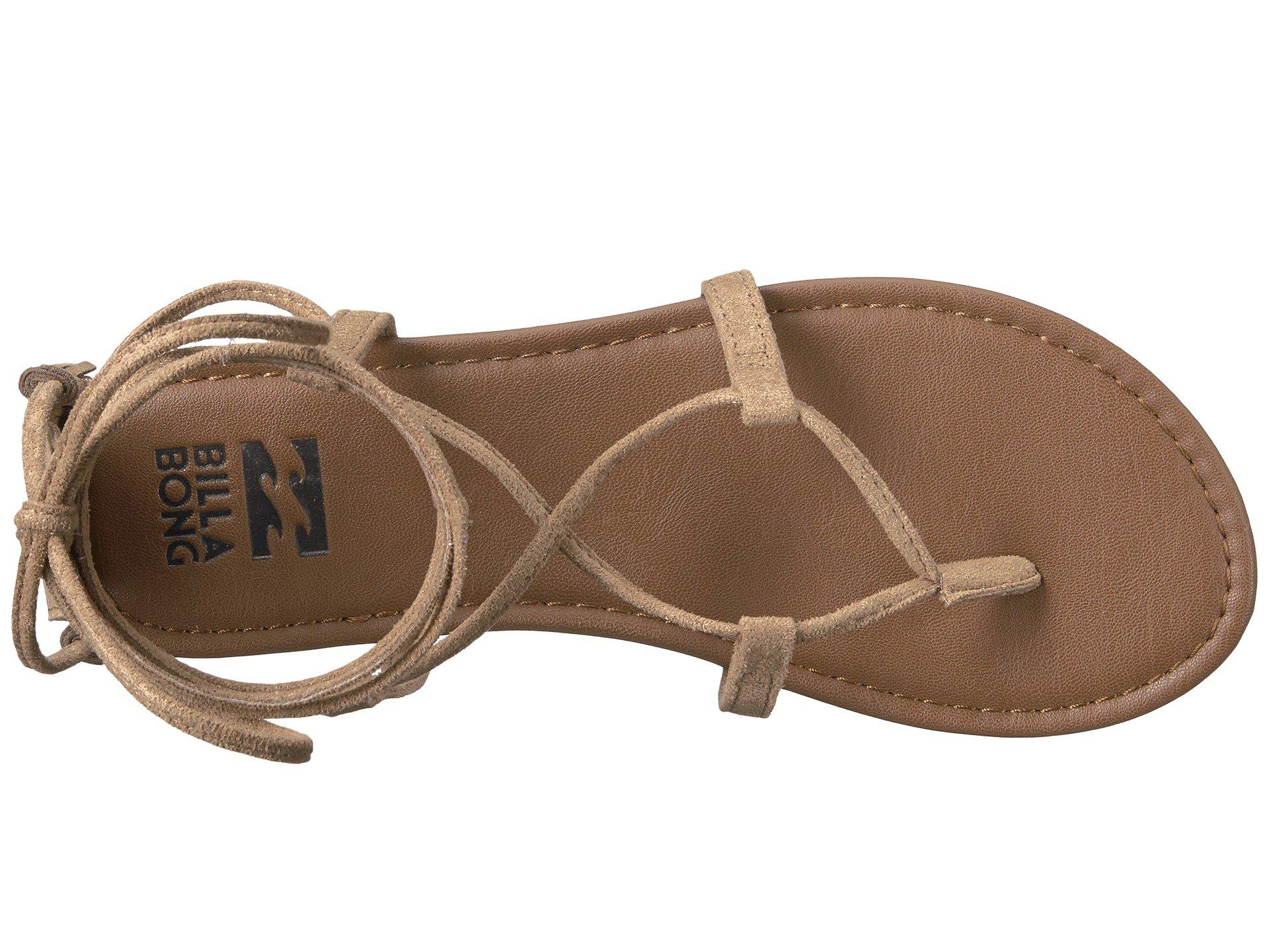 f419a904d98 Lyst - Billabong Around The Sun Sandal in Brown