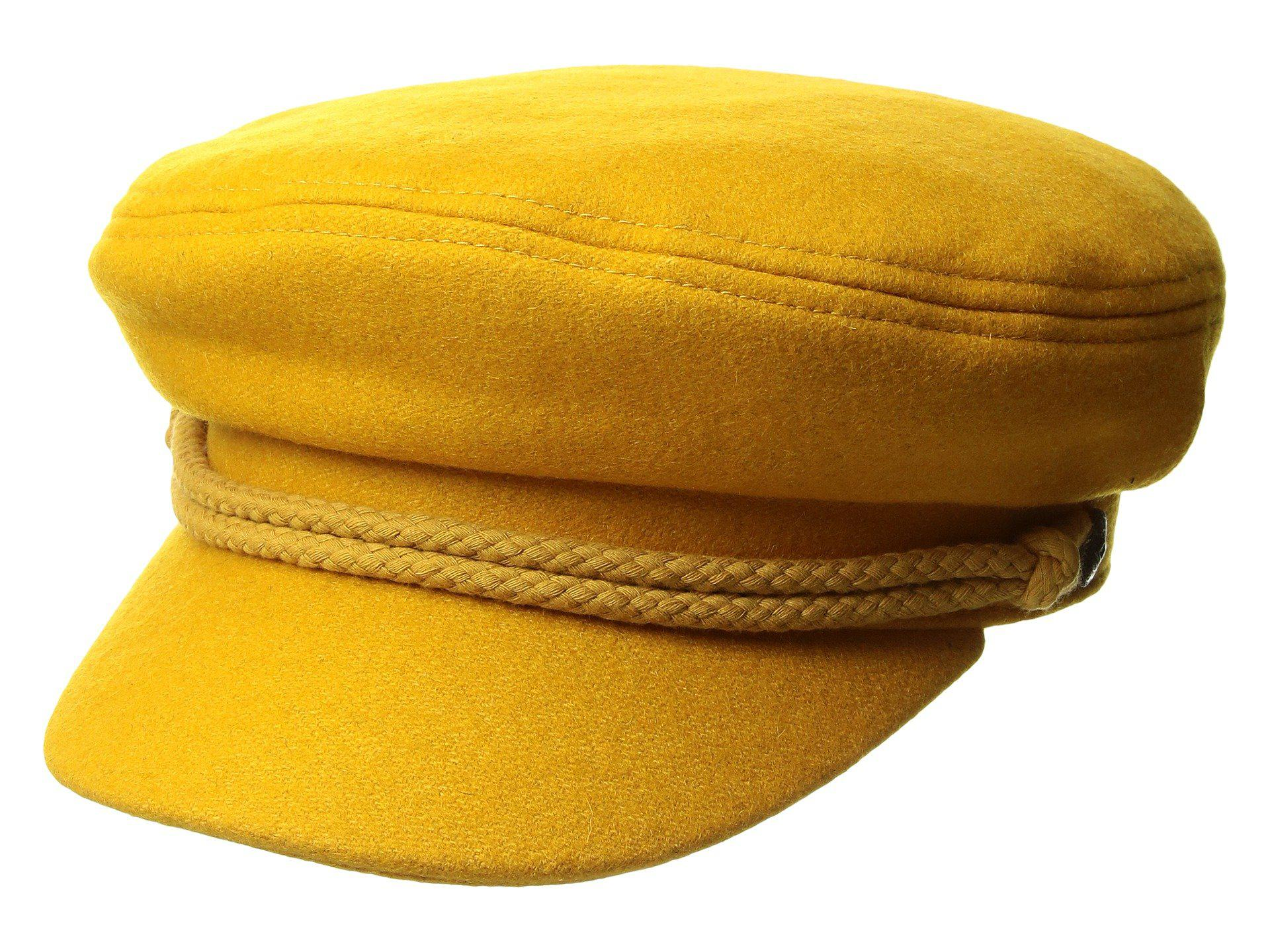 f811cb2e85d Lyst - Brixton Ashland Cap in Yellow for Men