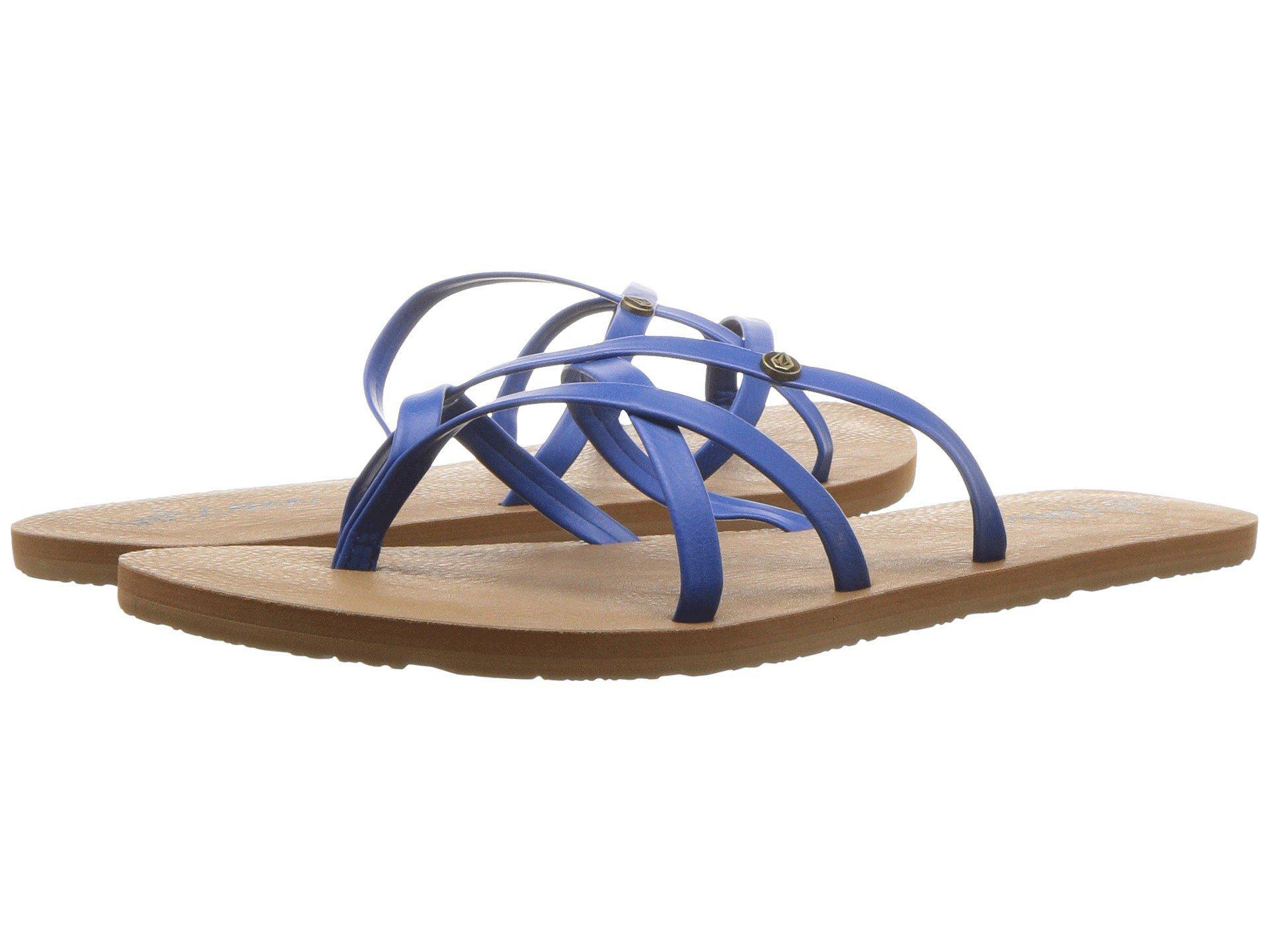 473bfe192 Lyst volcom new school brown womens sandals in blue jpg 1920x1440 Volcom  new school grey