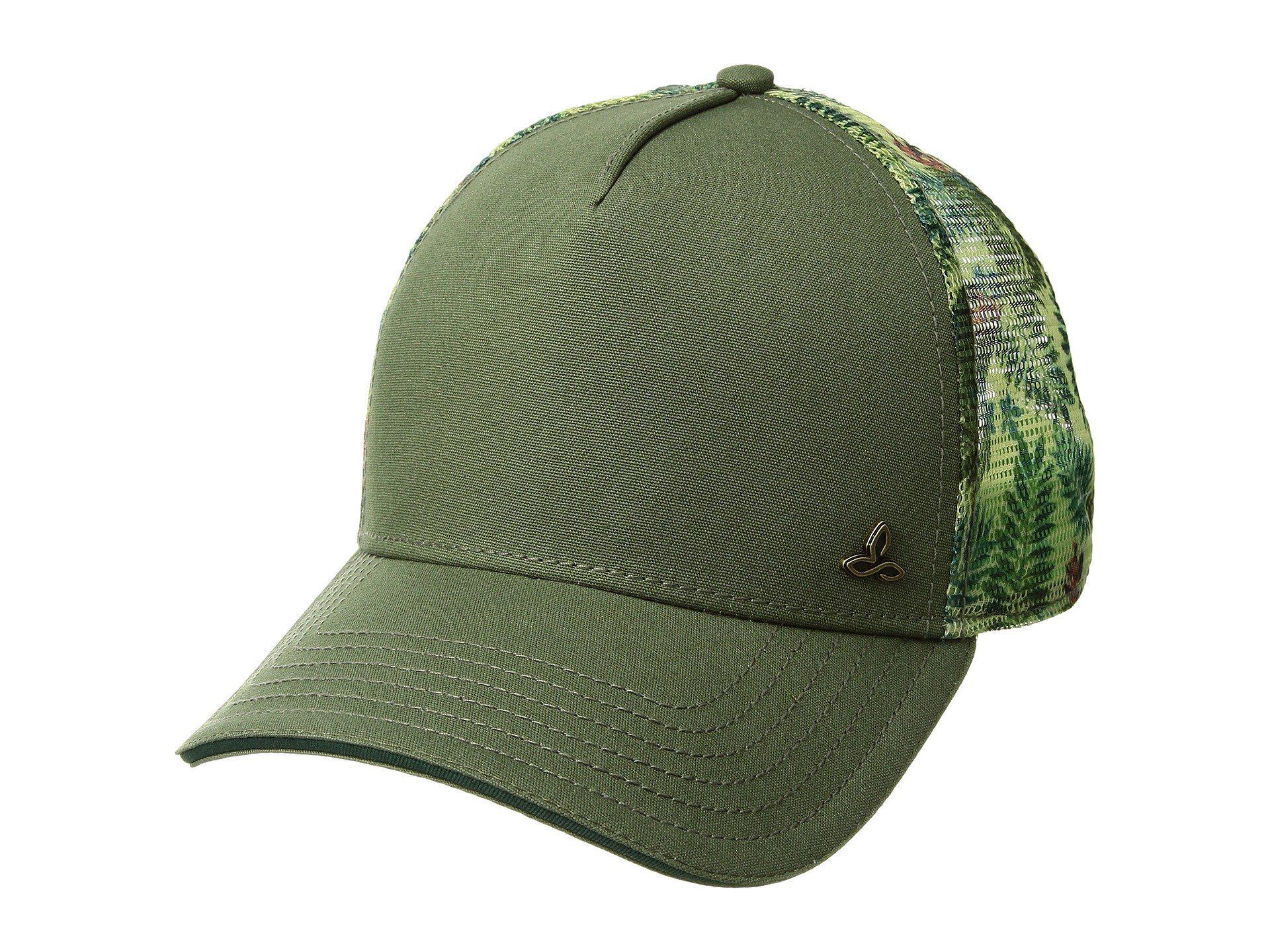dbf37f823bd89 Lyst - Prana Idalis Trucker Hat (turtle Green) Caps in Green