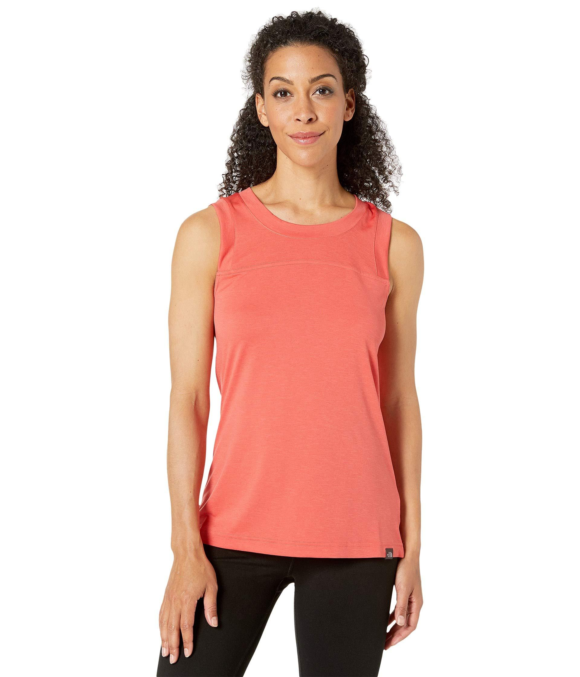 121c62b29 The North Face Hyperlayer Fd Tank Top in Orange - Lyst