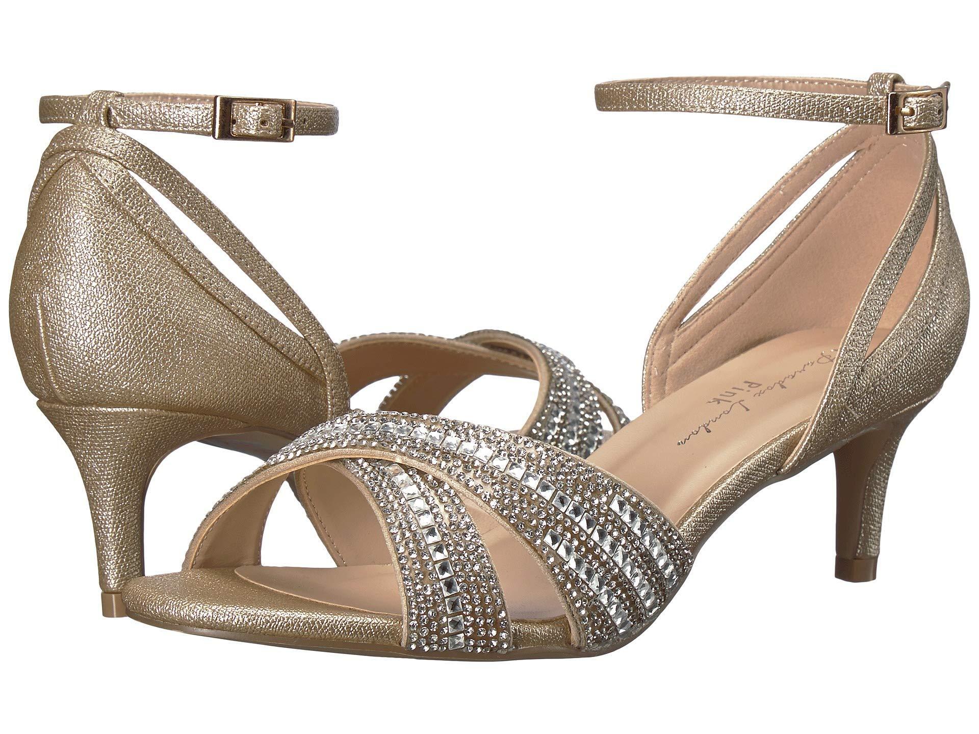 350cb315129 Lyst - Paradox London Pink Sabrina (silver) Women s Shoes