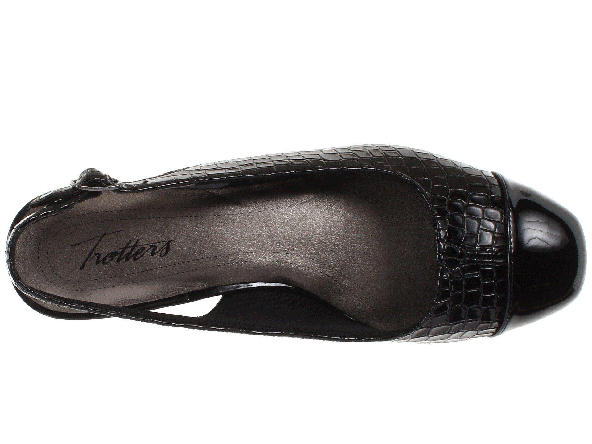 b730528486e Trotters - Dea (black Patent black Leather) Women s 1-2 Inch Heel. View  fullscreen