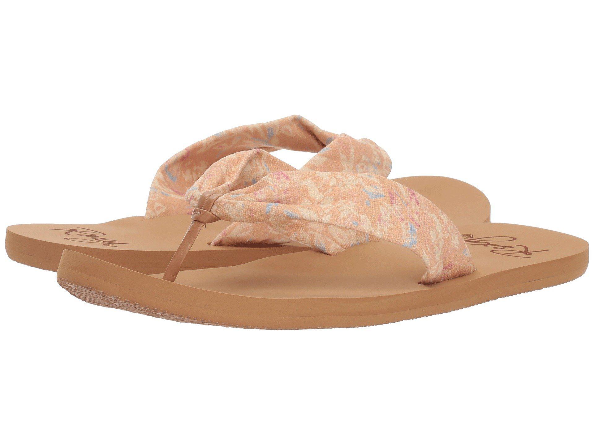 54982ec987072 Lyst - Roxy Paia Ii (dark Blue) Women s Sandals
