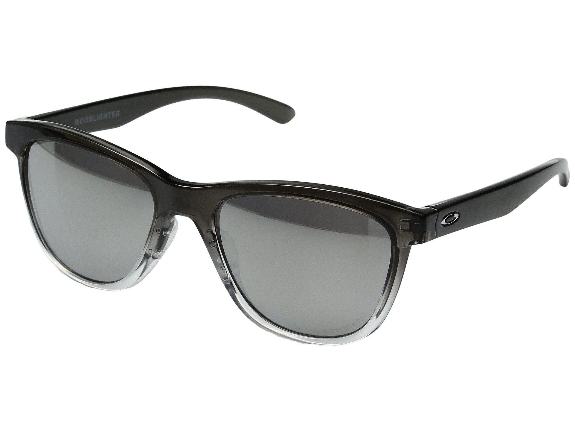 34e26dc6ac Oakley. Women s Black Moonlighter (tortoise brown Gradient Polarized)  Plastic Frame Fashion Sunglasses
