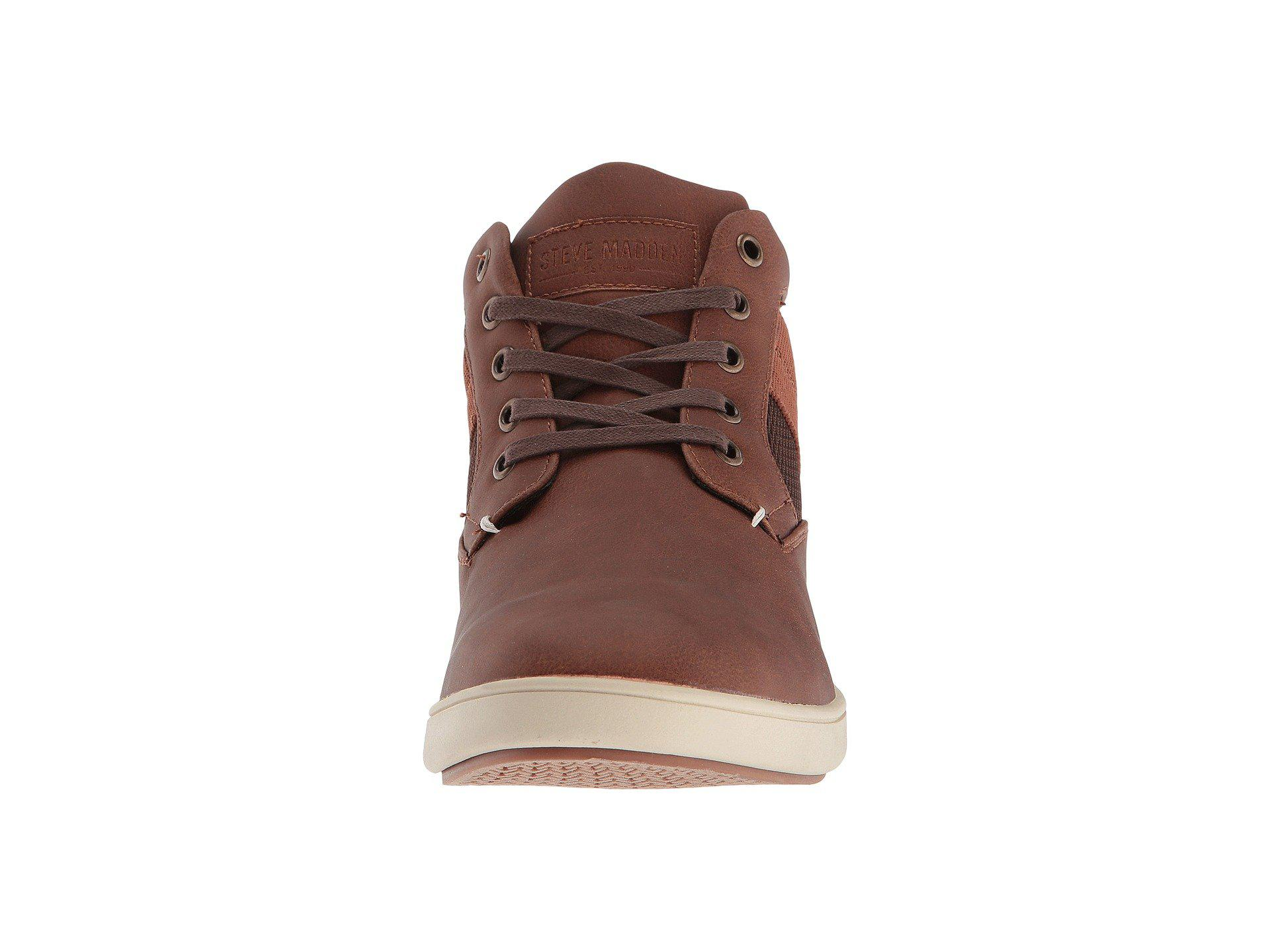 f5b08ed1fb4 Lyst - Steve Madden Frazier Sneaker in Brown for Men