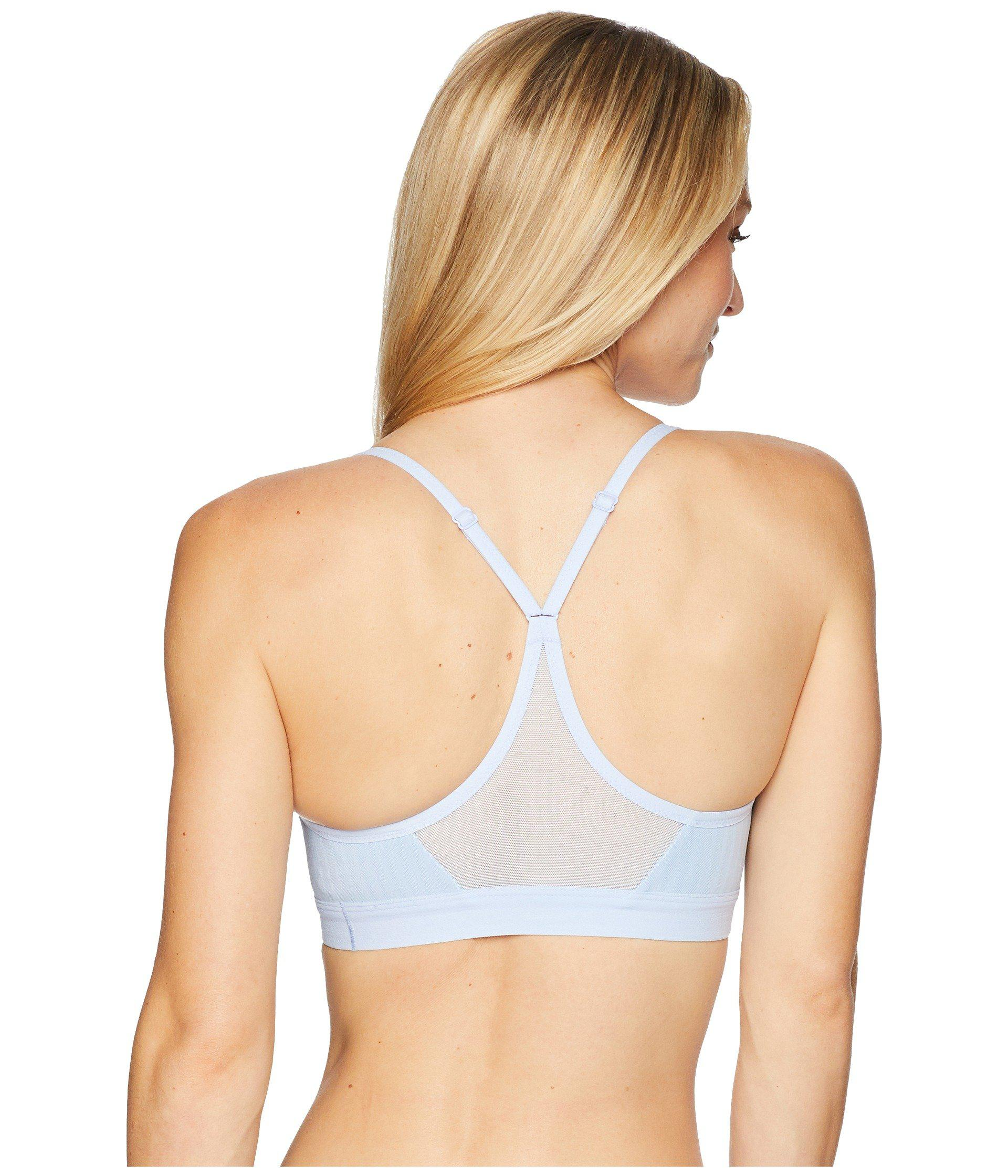 ef07114e3c Lyst - Nike Indy Bra Party Pack (crimson Tint metallic Silver ...