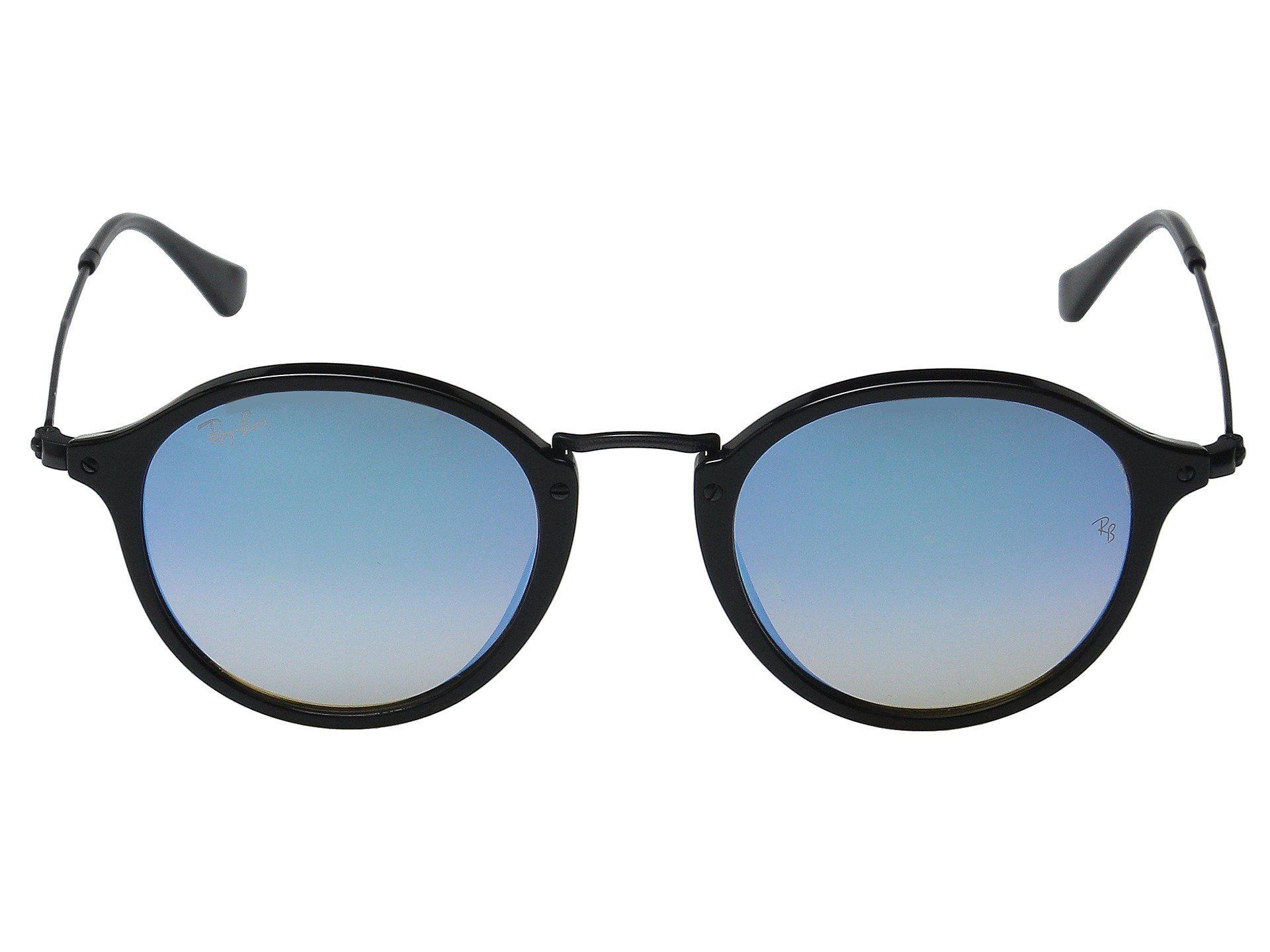 ed0c5d5f6e Ray-Ban - Rb2447 49mm (black Frame mirror Gradient Blue Lens) Fashion. View  fullscreen