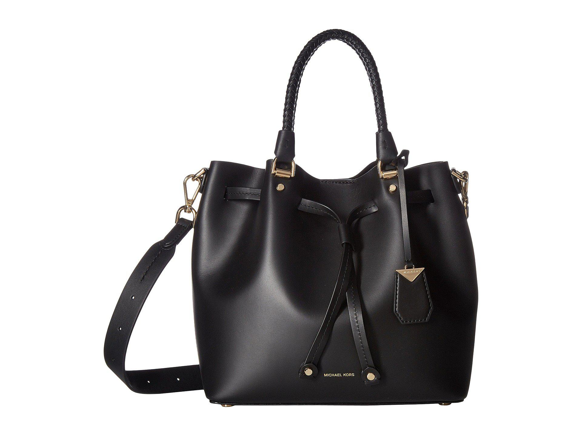 4b4a07fe92c6 Lyst - MICHAEL Michael Kors Blakely Medium Bucket Bag (black ...