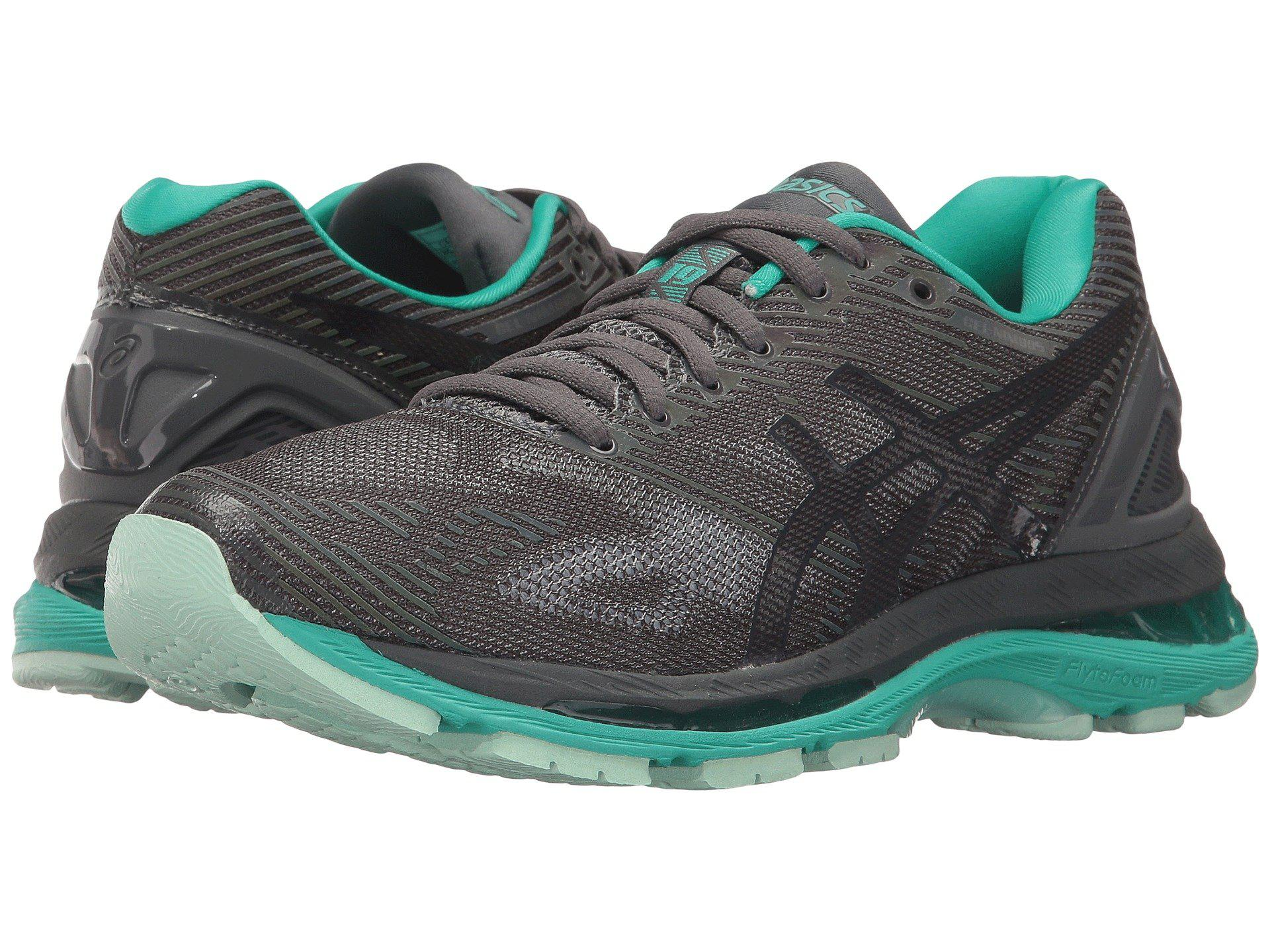 asics gel nimbus 19 lite show in gray save 48 lyst. Black Bedroom Furniture Sets. Home Design Ideas