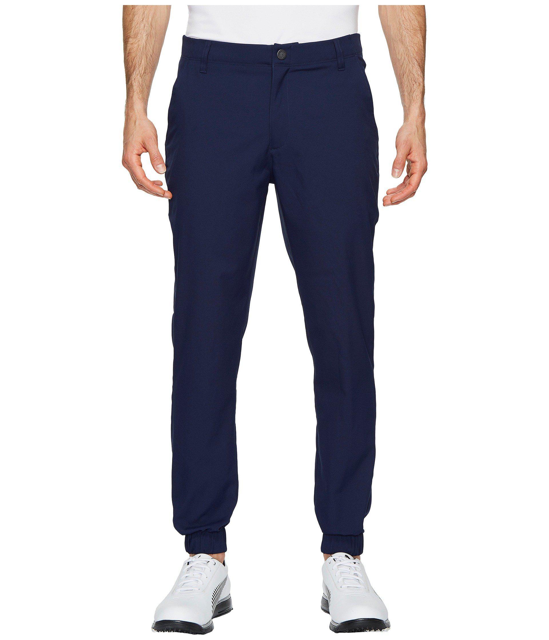 39af495f53c3 Lyst - PUMA Golf Joggers (quarry) Men s Casual Pants in Blue for Men