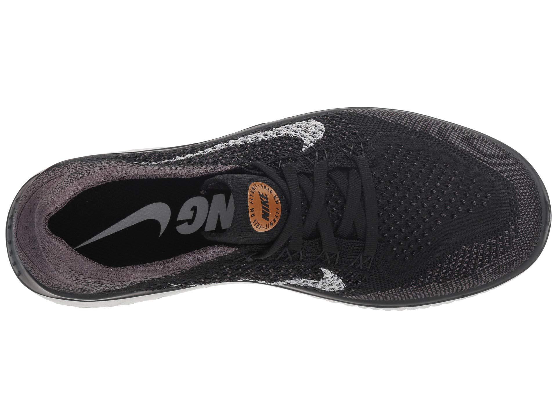 f8f89adc8321c Lyst - Nike Free Rn Flyknit (black vast Grey metallic Gold) Women s ...