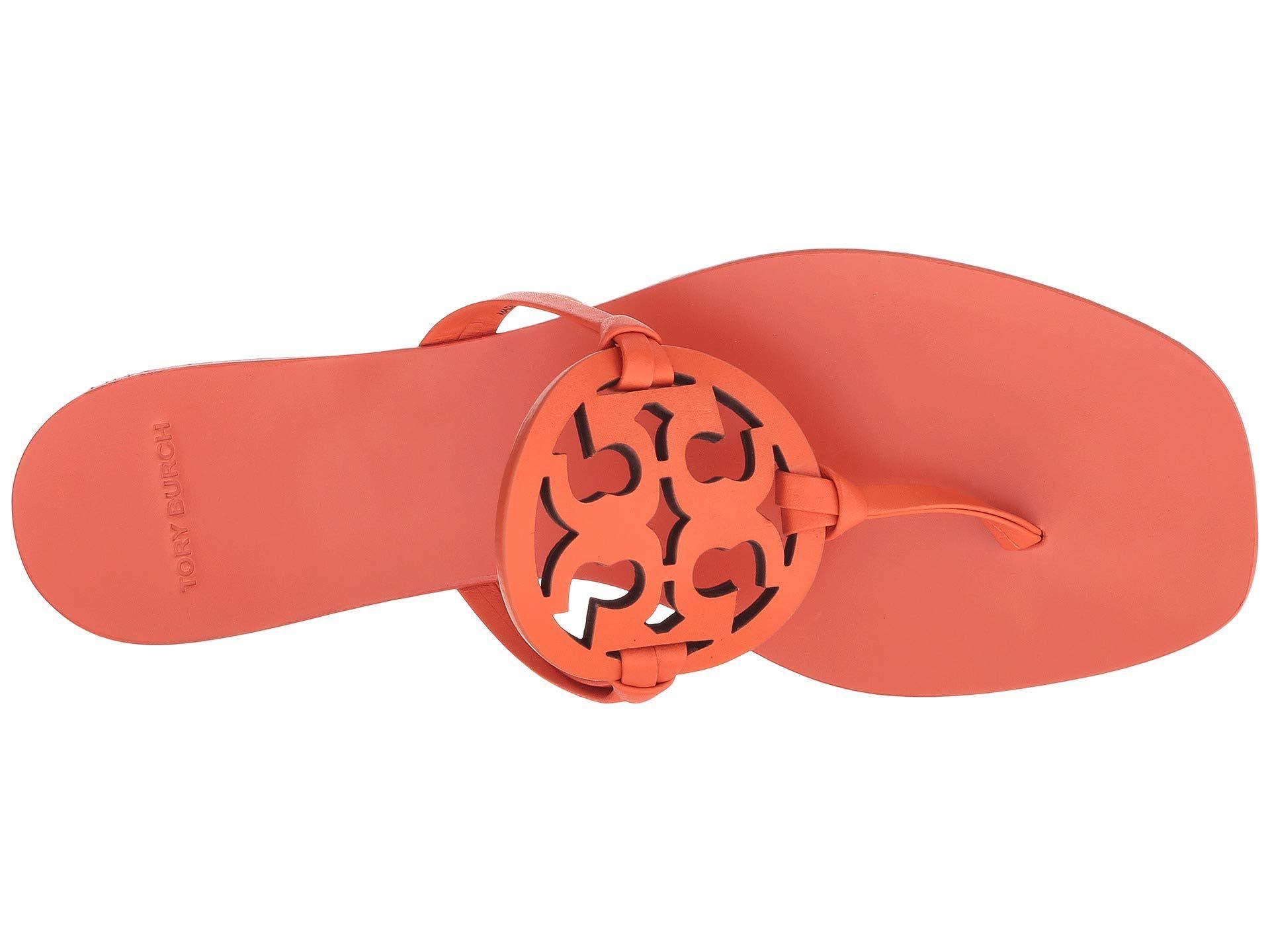 9b728ceedbe1 Tory Burch - Multicolor Miller Square Toe (sweet Tangerine) Women s Shoes -  Lyst. View fullscreen