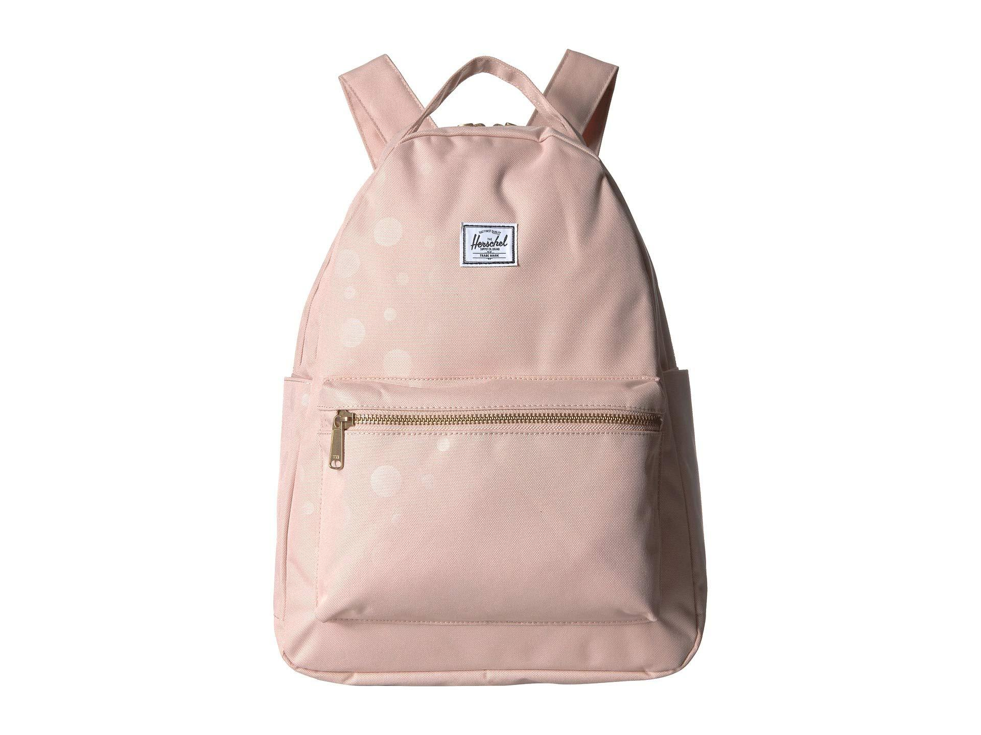 c145e571e38 Herschel Supply Co. Women s Nova Mid-volume (pink Lady Crosshatch) ...