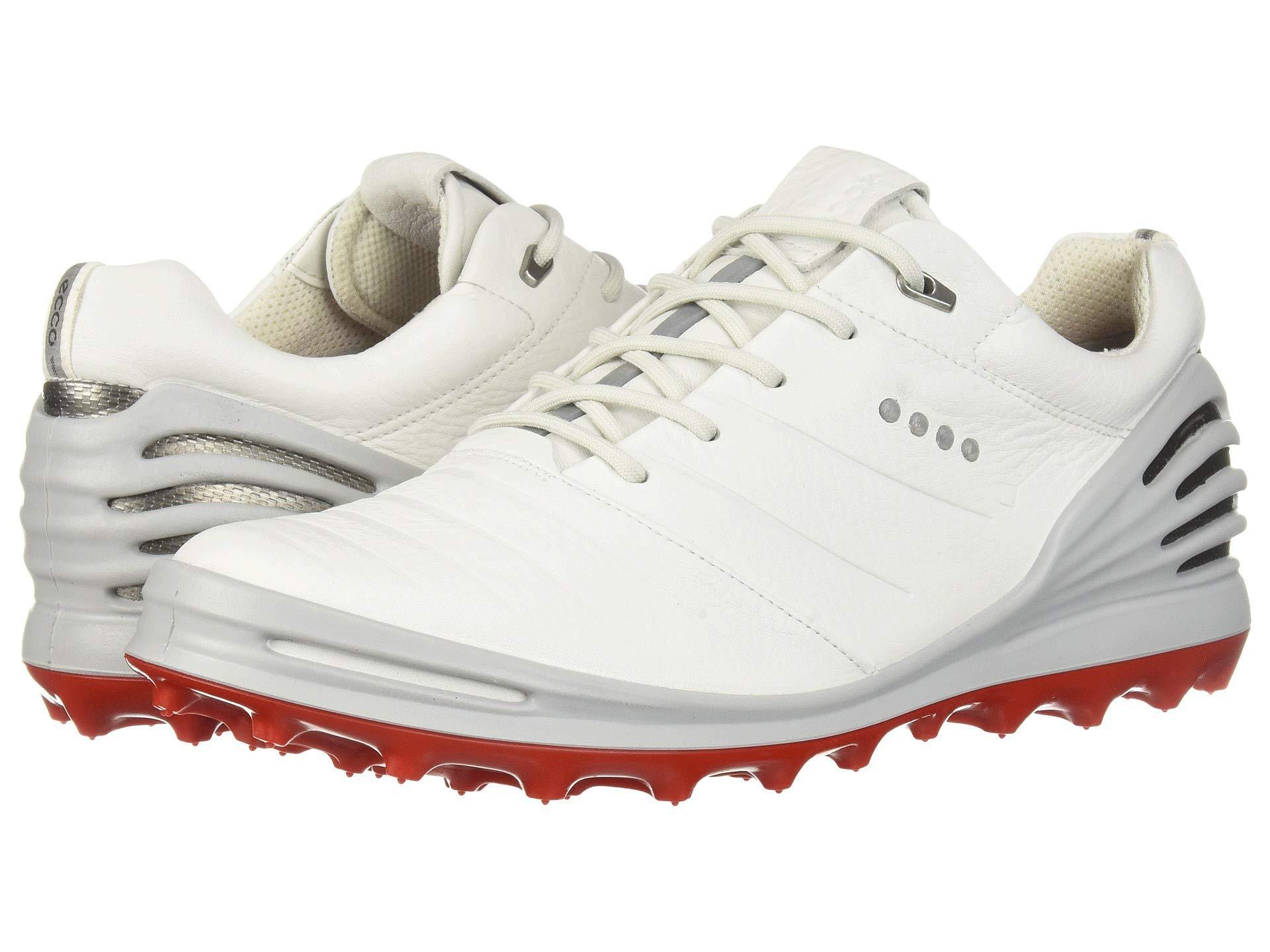 Lyst Ecco Cage Pro Gore Tex R 2 Black Men S Golf Shoes In White
