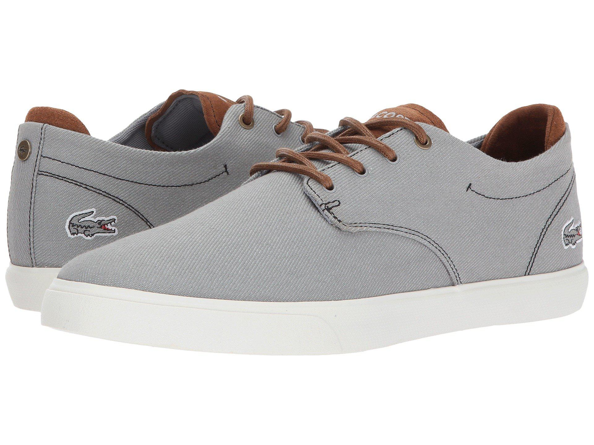 7e774598931eee Lyst - Lacoste Esparre 318 3 in Gray for Men - Save 44%