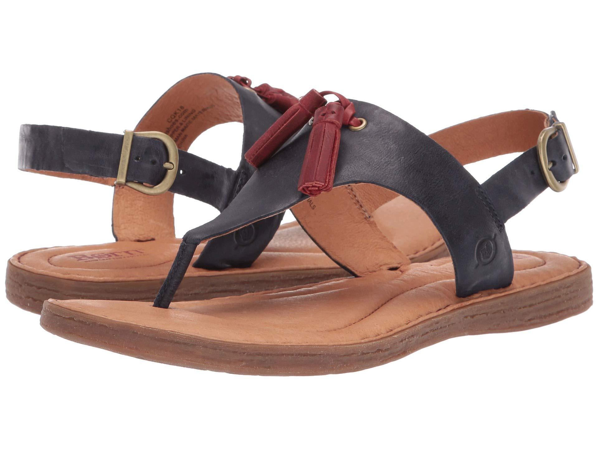 5f10c8efd098 Lyst - Born St. Joe (tan Full Grain Leather) Women s Sandals