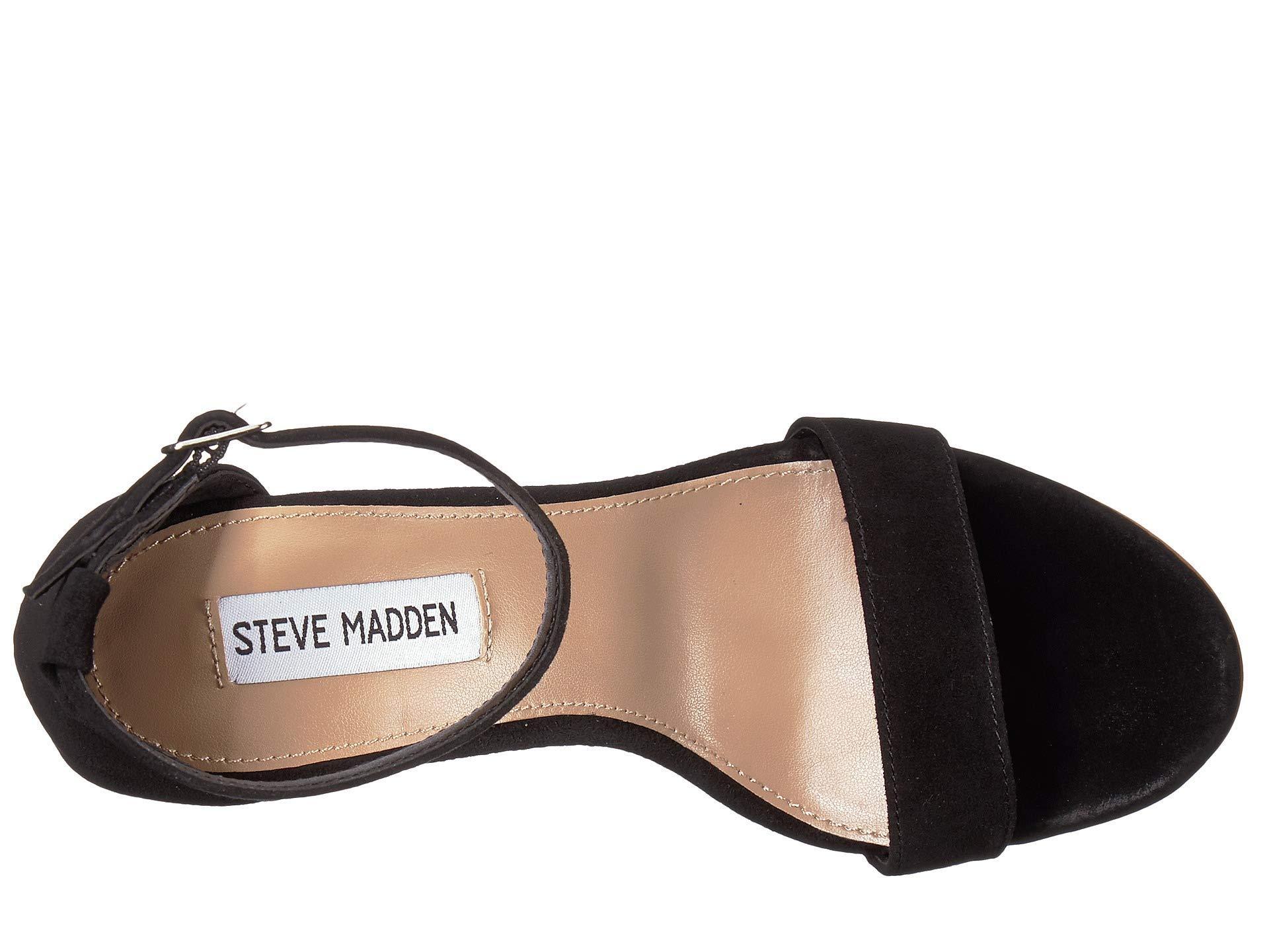 0225c865cbd Steve Madden - Black Mary Wedge Sandal (natural Snake) Women s Sandals -  Lyst. View fullscreen