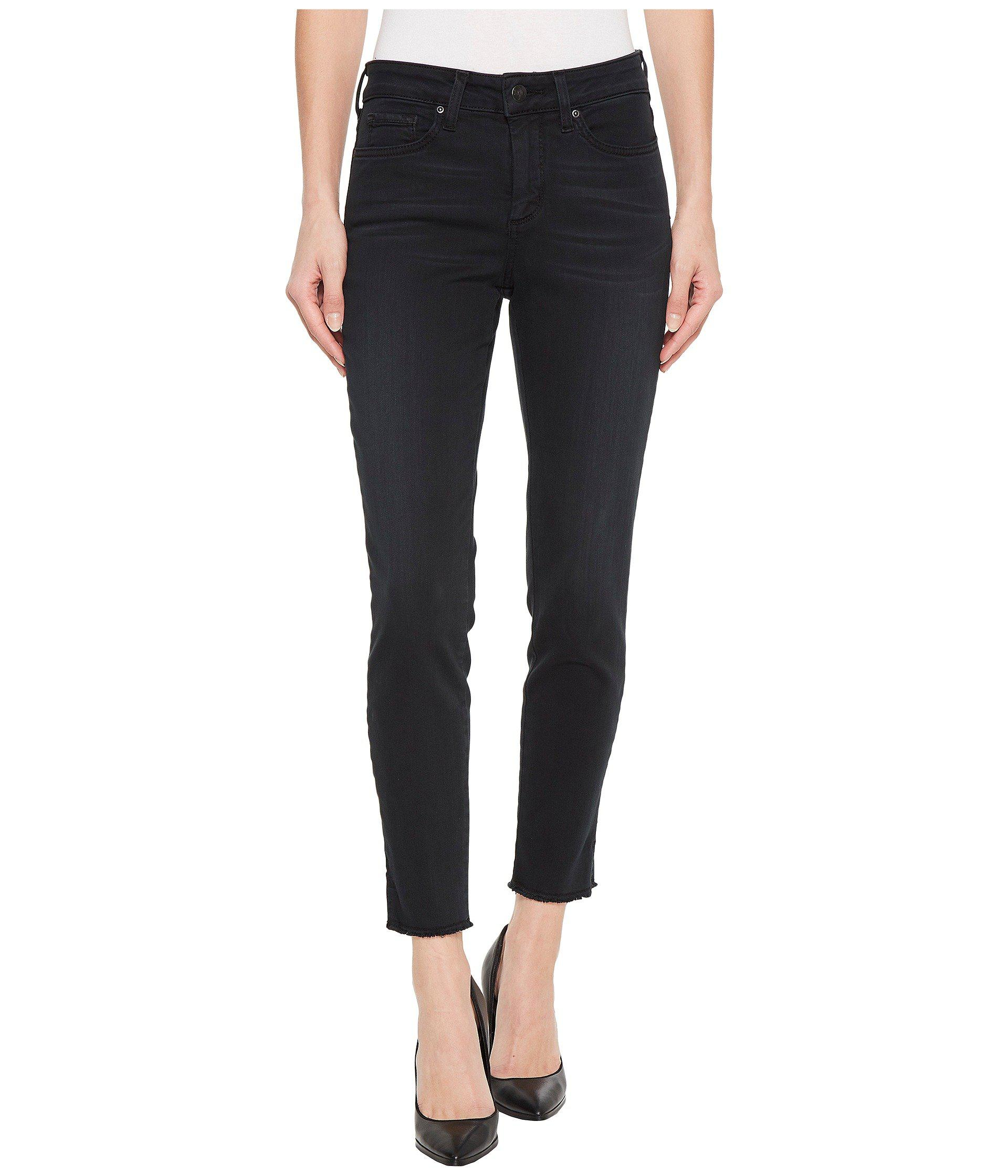 Skinny Ankle Chino w/ Fray (Light Primrose) Womens Casual Pants NYDJ Cheap Visit New nOK31fJyfc