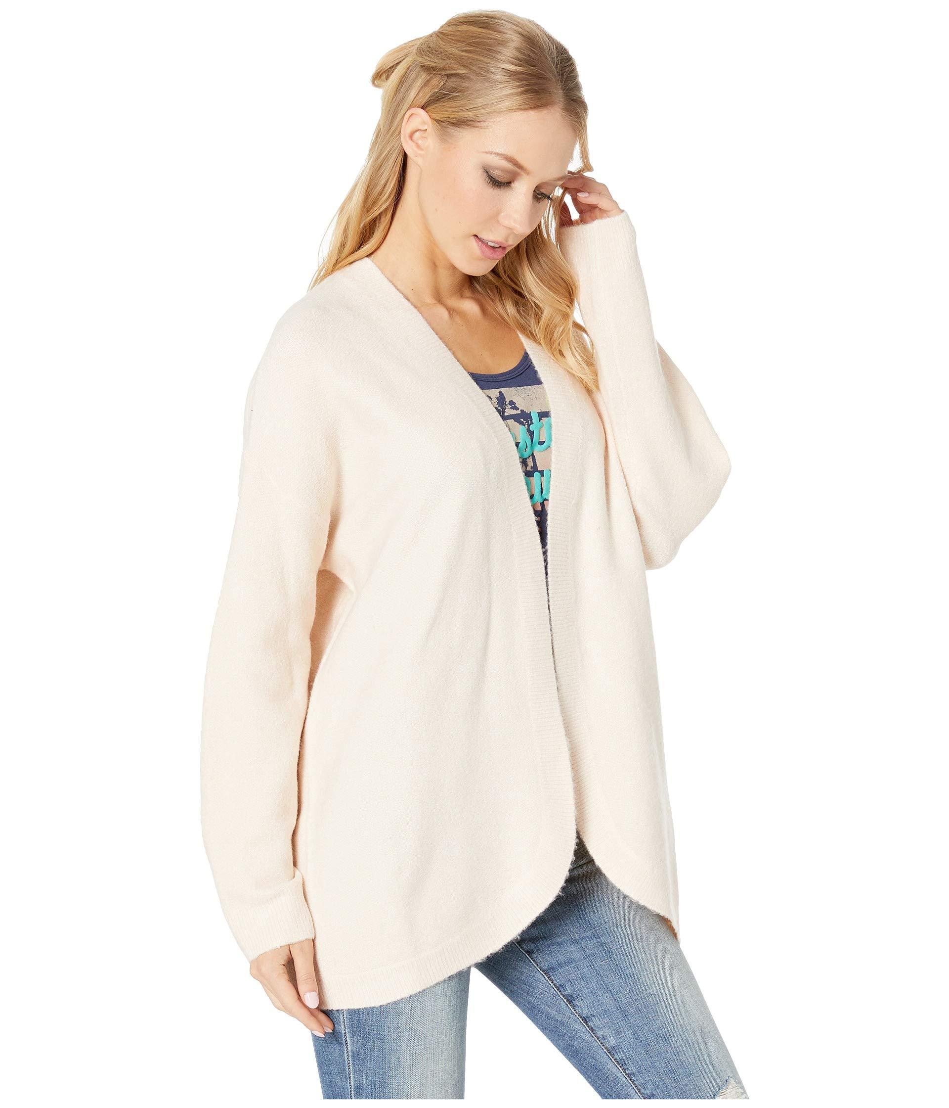 Roxy - Delicate Mind Cardigan (cloud Pink) Women s Sweater - Lyst. View  fullscreen b8fbfa781
