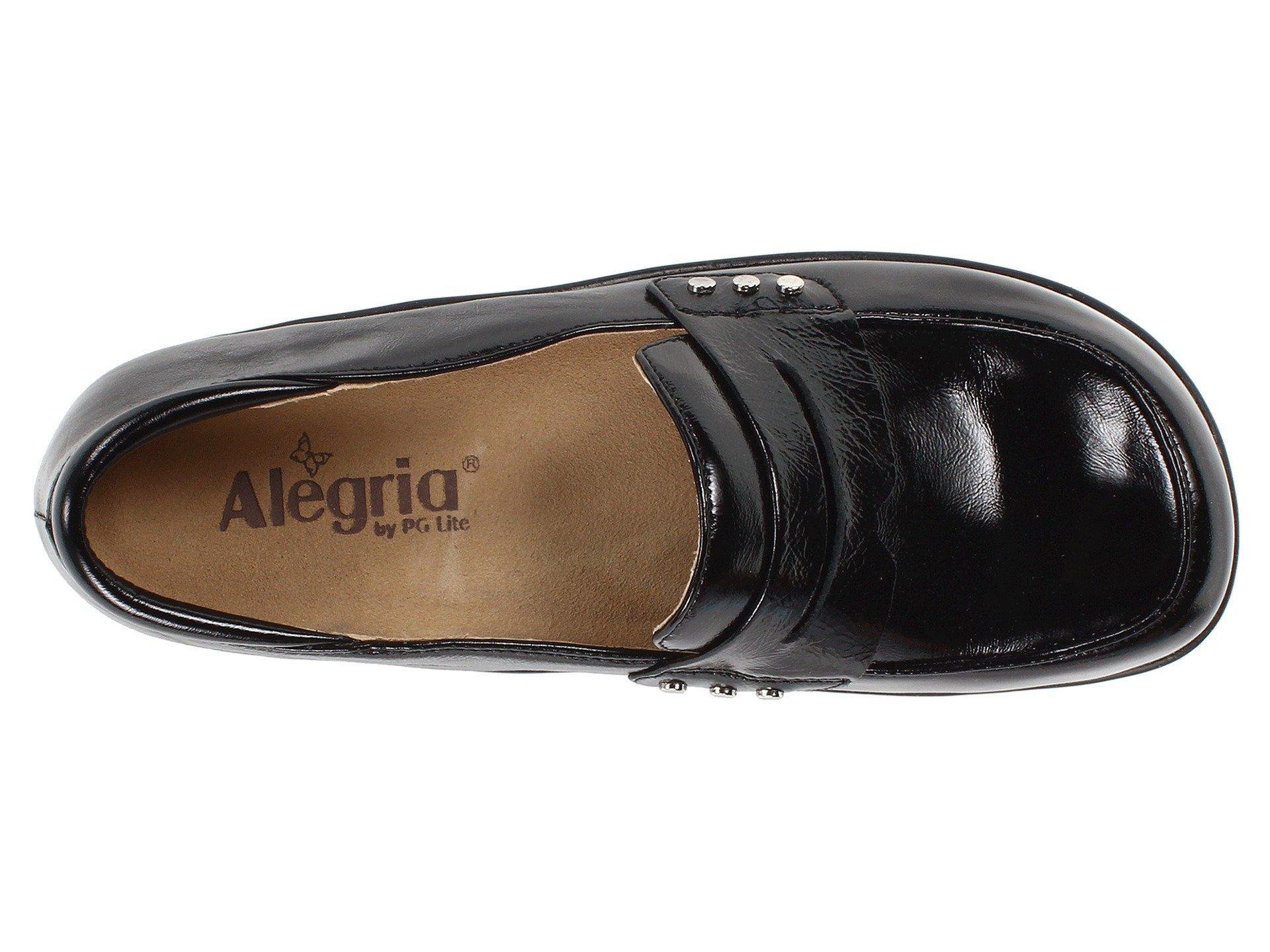 3c3344f9e7d Alegria - Taylor (black Waxy) Women s Clog Shoes - Lyst. View fullscreen