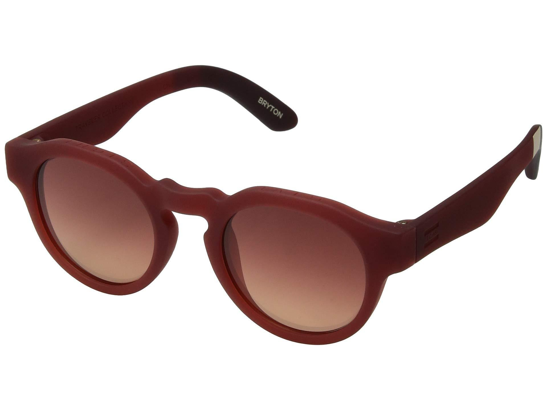 dd999226df TOMS. Women's Red Traveler By Bryton (matte Infinity Blue) Fashion  Sunglasses