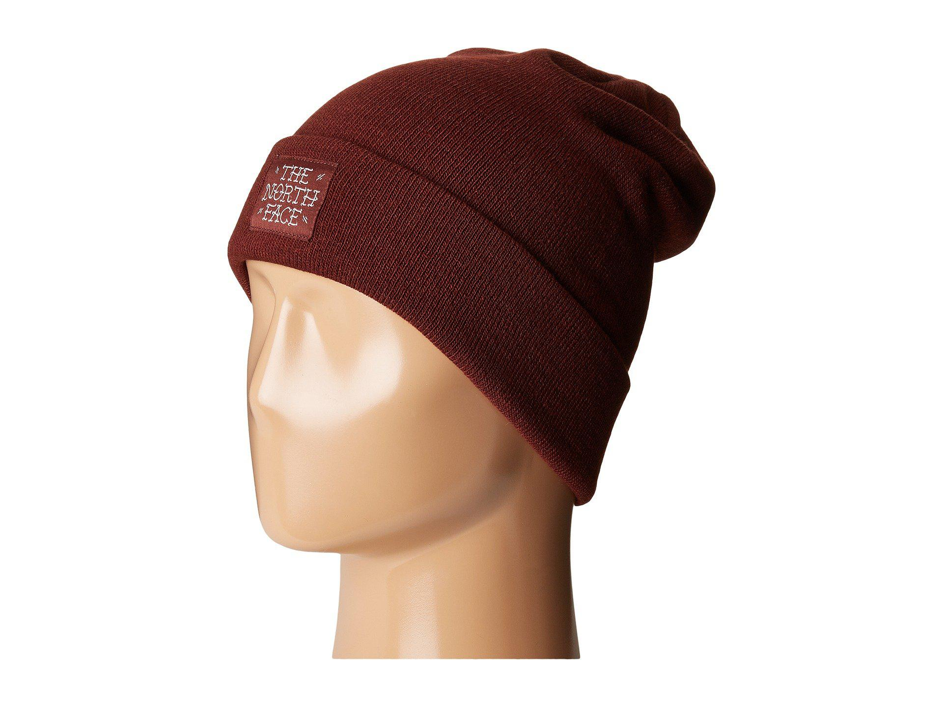 76fb0454248 Lyst - The North Face Dock Worker Beanie in Red for Men