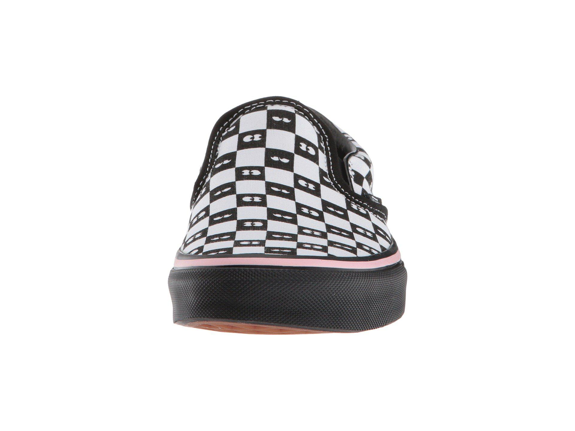 04ec1f852866 Lyst - Vans Classic Slip-on X Lazy Oaf Collab (checkerboard eyeballs ...