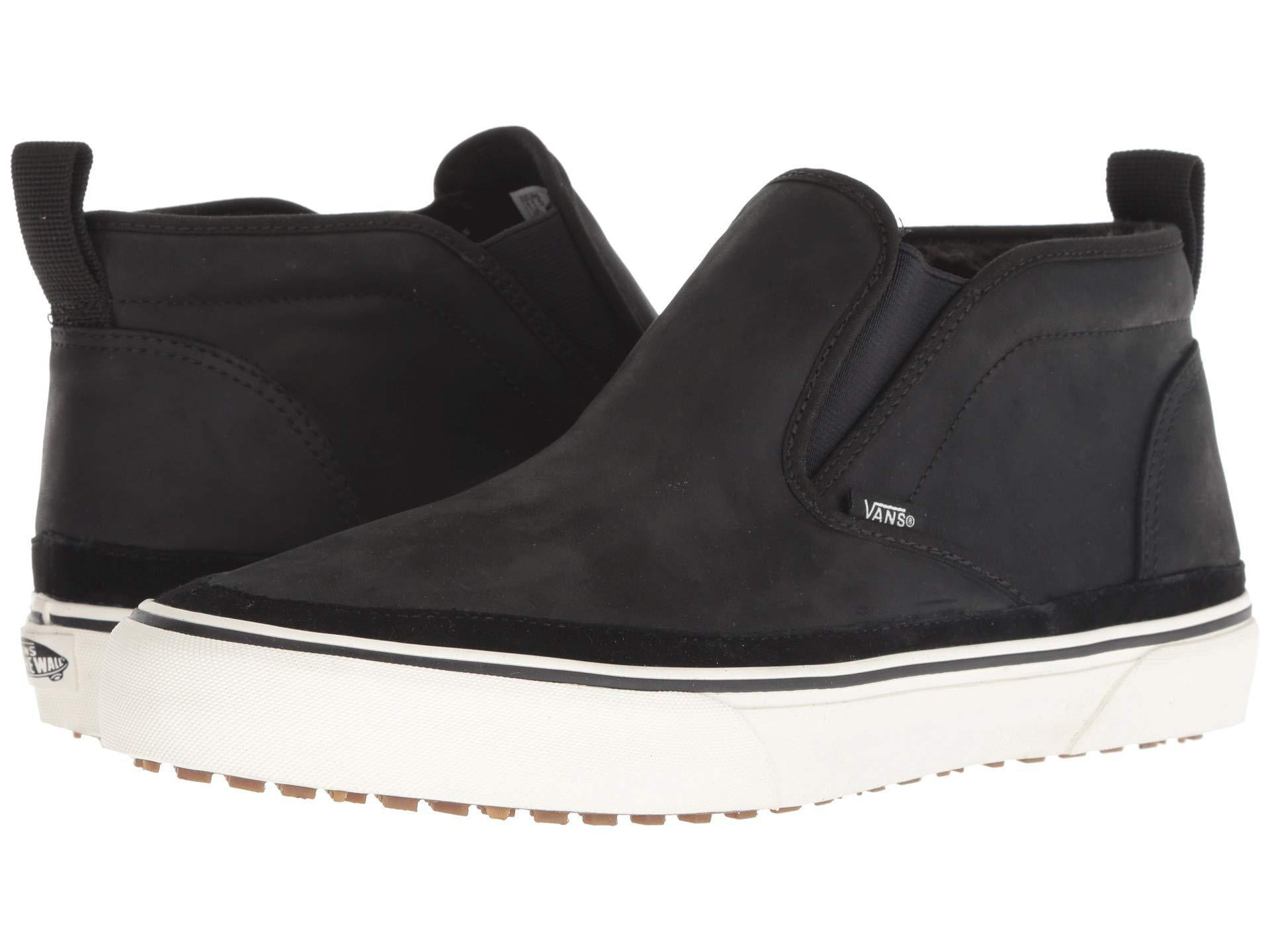 a8b8e2daf8 Lyst - Vans Mid Slip Sf Mte (black marshmallow) Men s Skate Shoes in ...