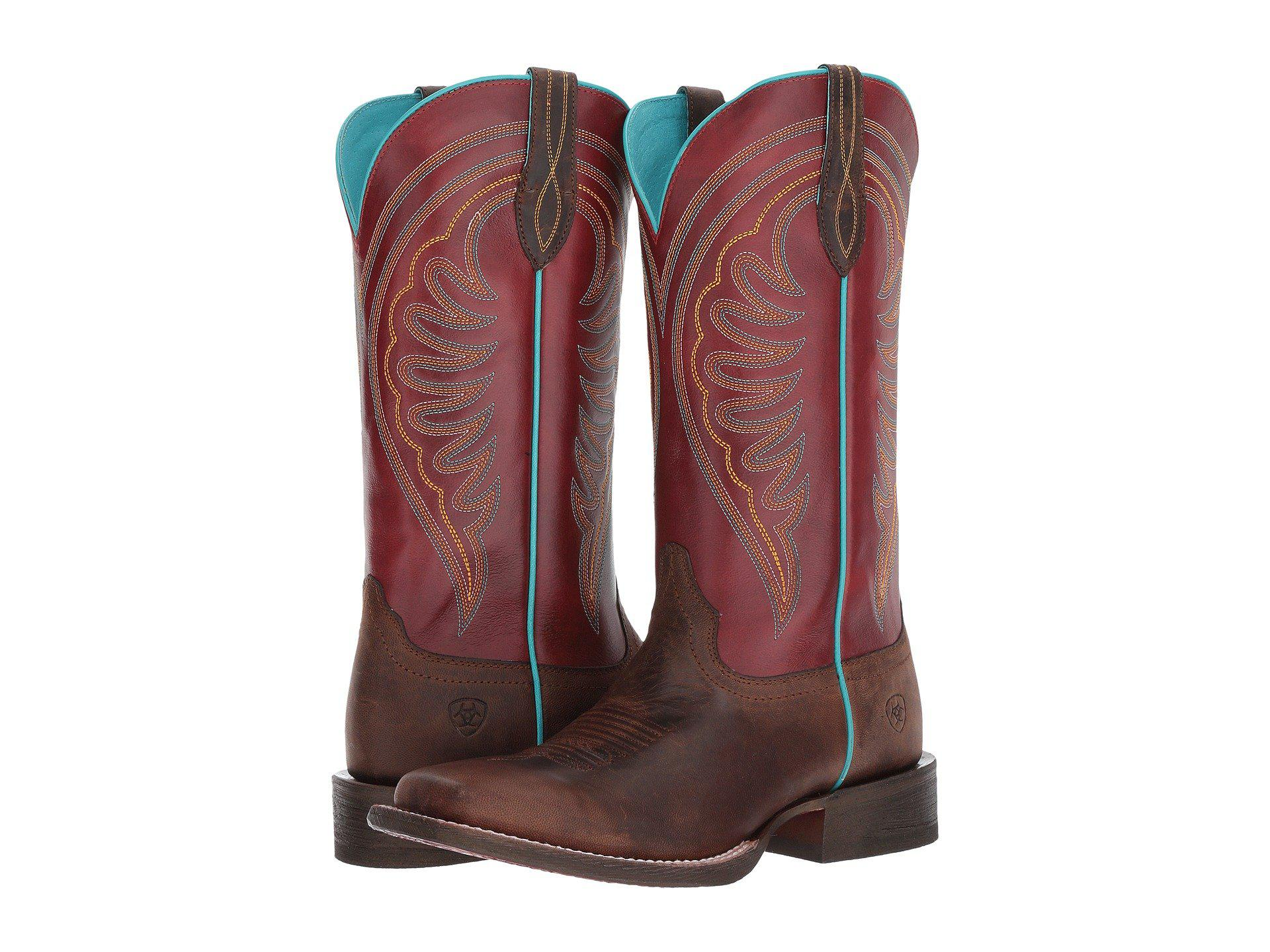 f70faec7569 Ariat. Women s Circuit Shiloh (weathered Brown risky Red) Cowboy Boots