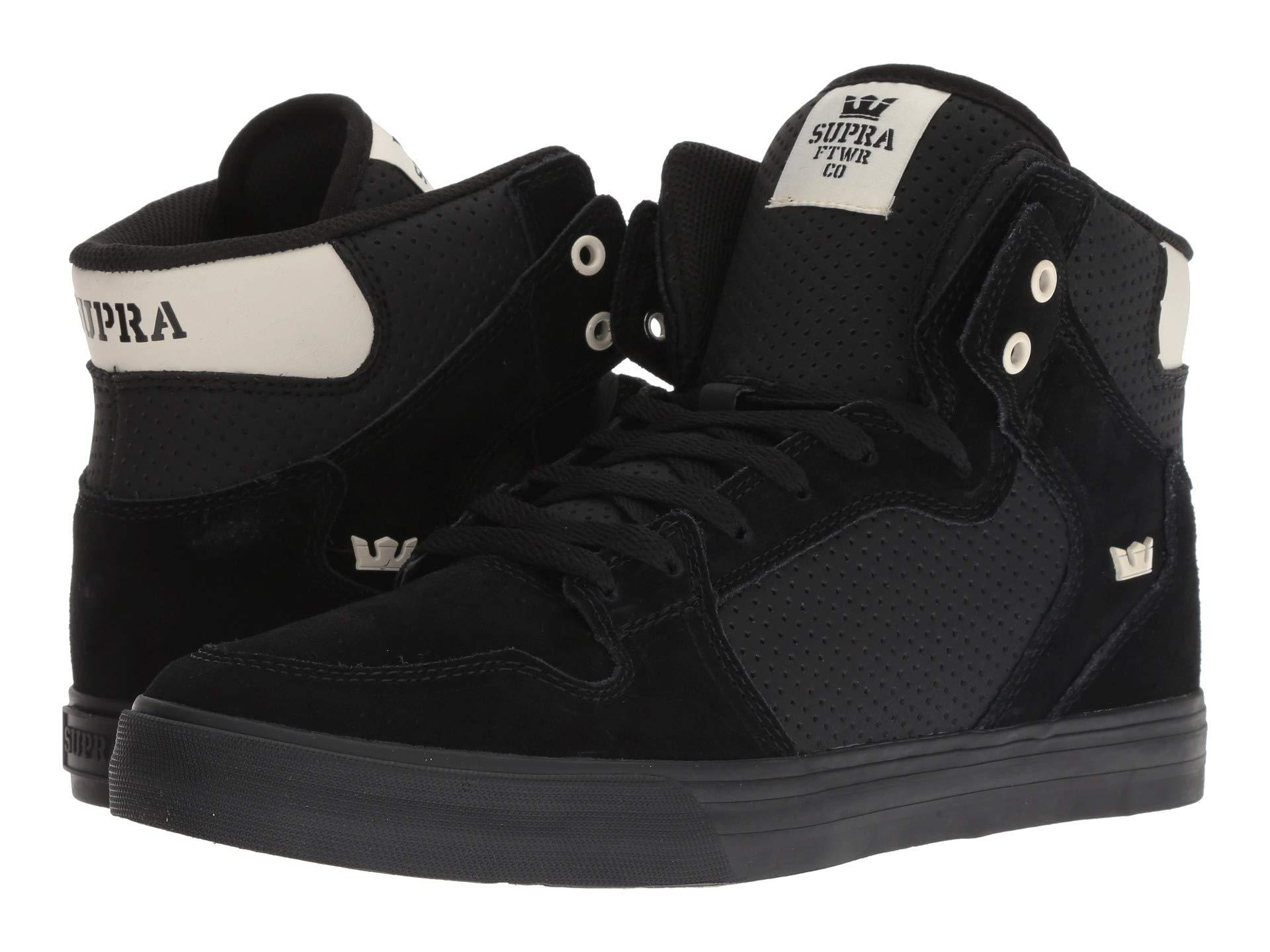 02ac27d0c231 Lyst - Supra Vaider (black off-white black) Men s Shoes in Black for Men