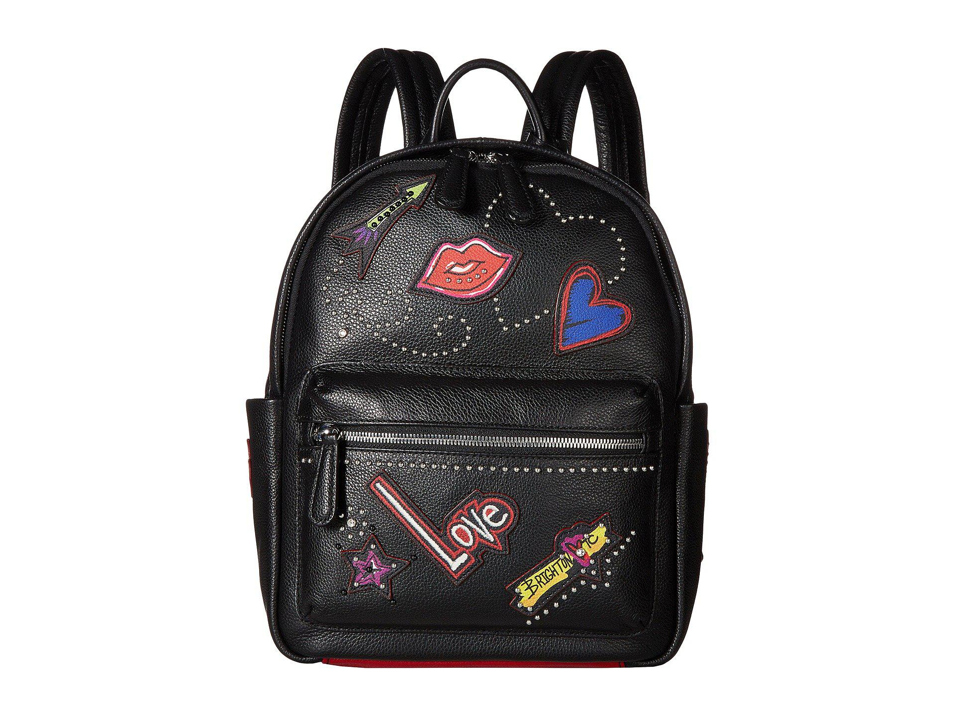 c6b227eec7 Lyst - Brighton Love Scribble Backpack in Black