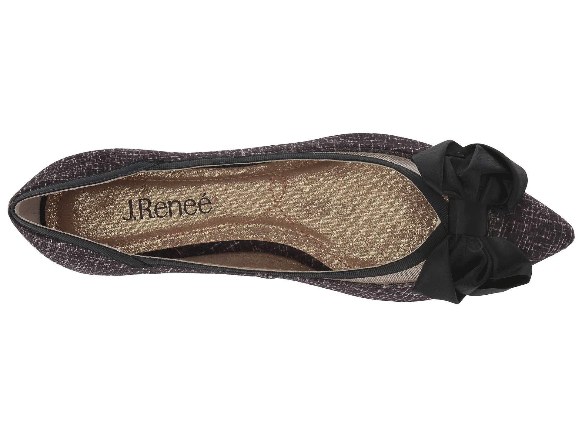 ceda11ee447 Lyst - J. Reneé Allitson (pewter) High Heels in Black