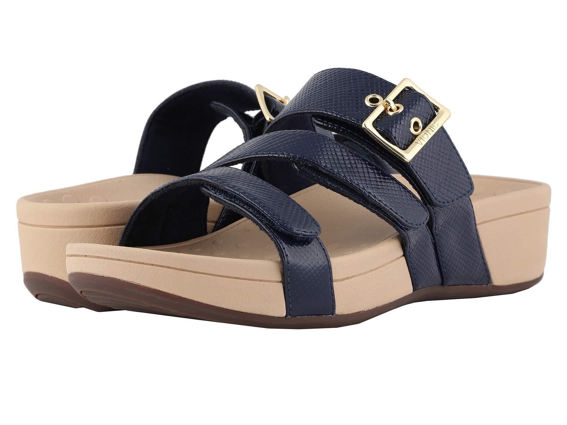 1657c5da4b2e Vionic - Blue Rio Lizard (black) Women s Sandals - Lyst. View fullscreen