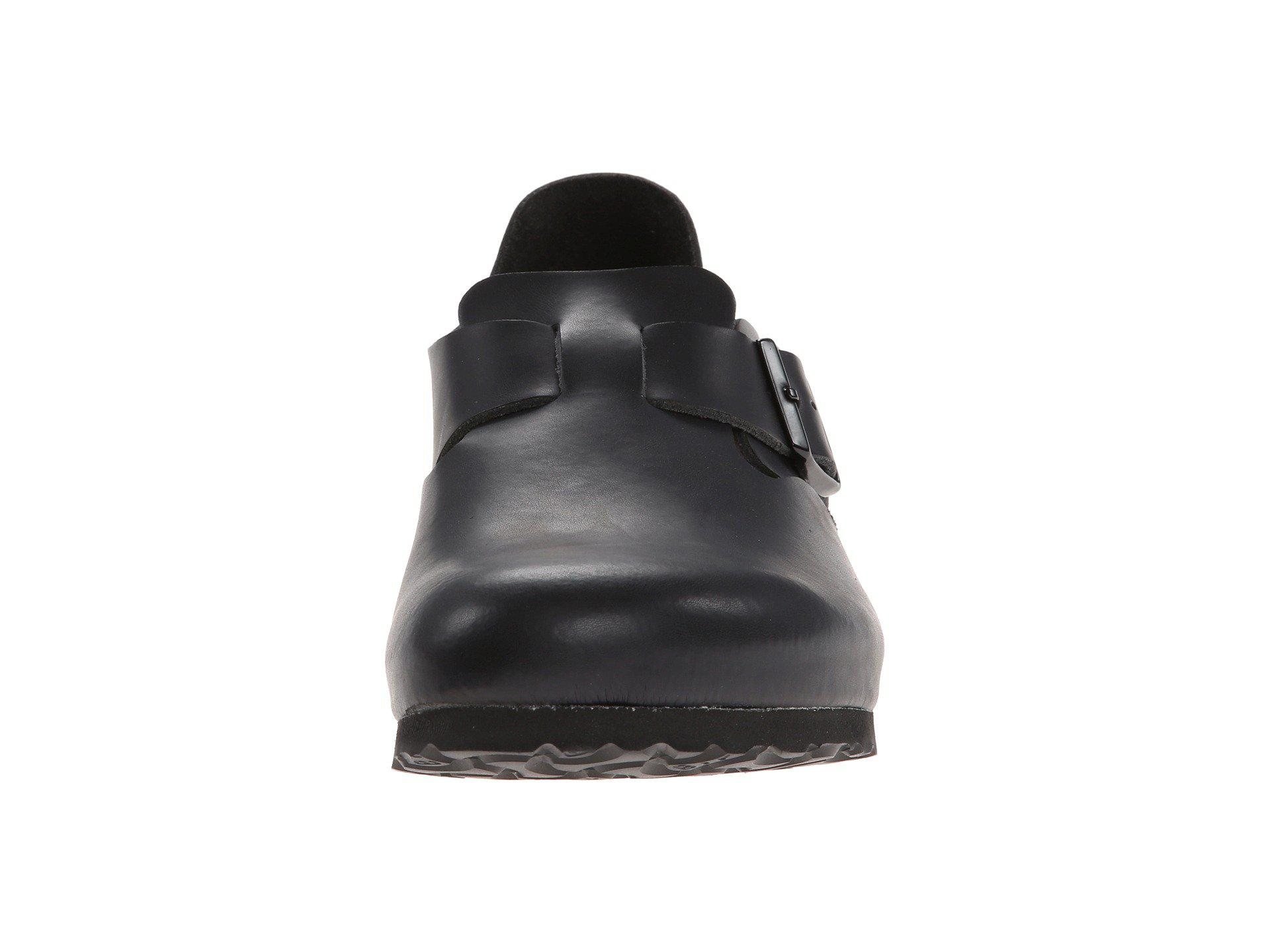 da8000d985d7 Birkenstock - London Soft Footbed (hunter Black Leather) Shoes - Lyst. View  fullscreen