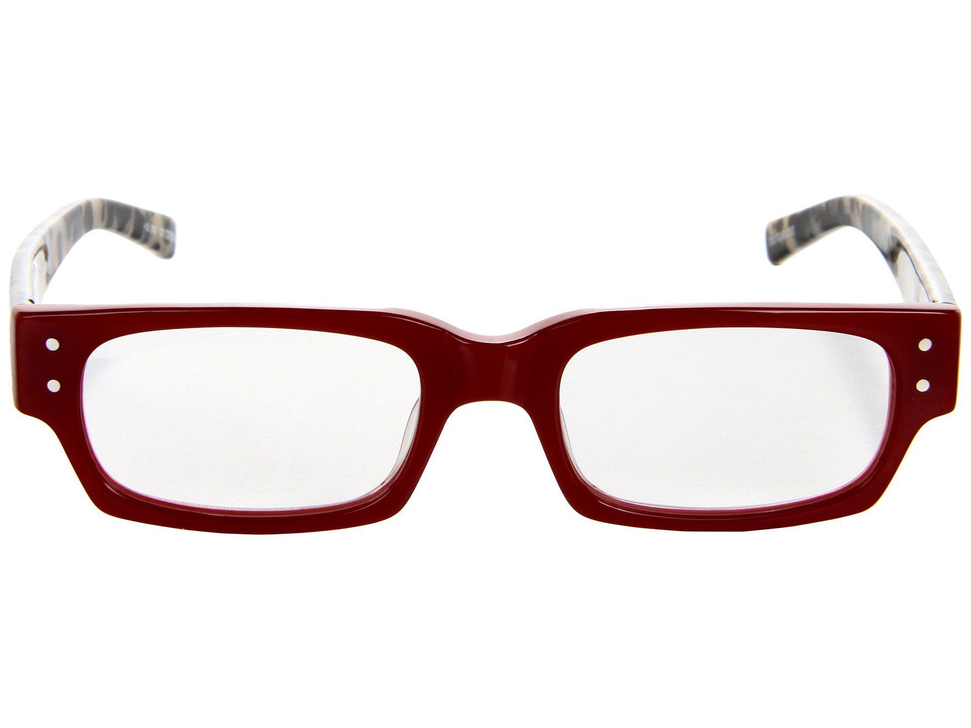 088dce40828 Eyebobs - Red Peckerhead Readers (blue Stripe) Reading Glasses Sunglasses -  Lyst. View fullscreen