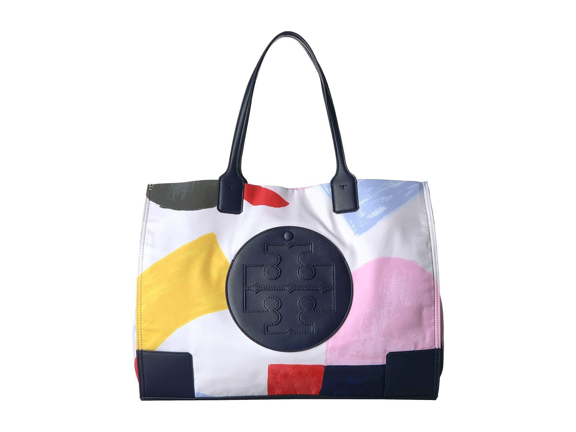 2eadecec412b Lyst - Tory Burch Ella Printed Tote (inside The Box) Tote Handbags ...